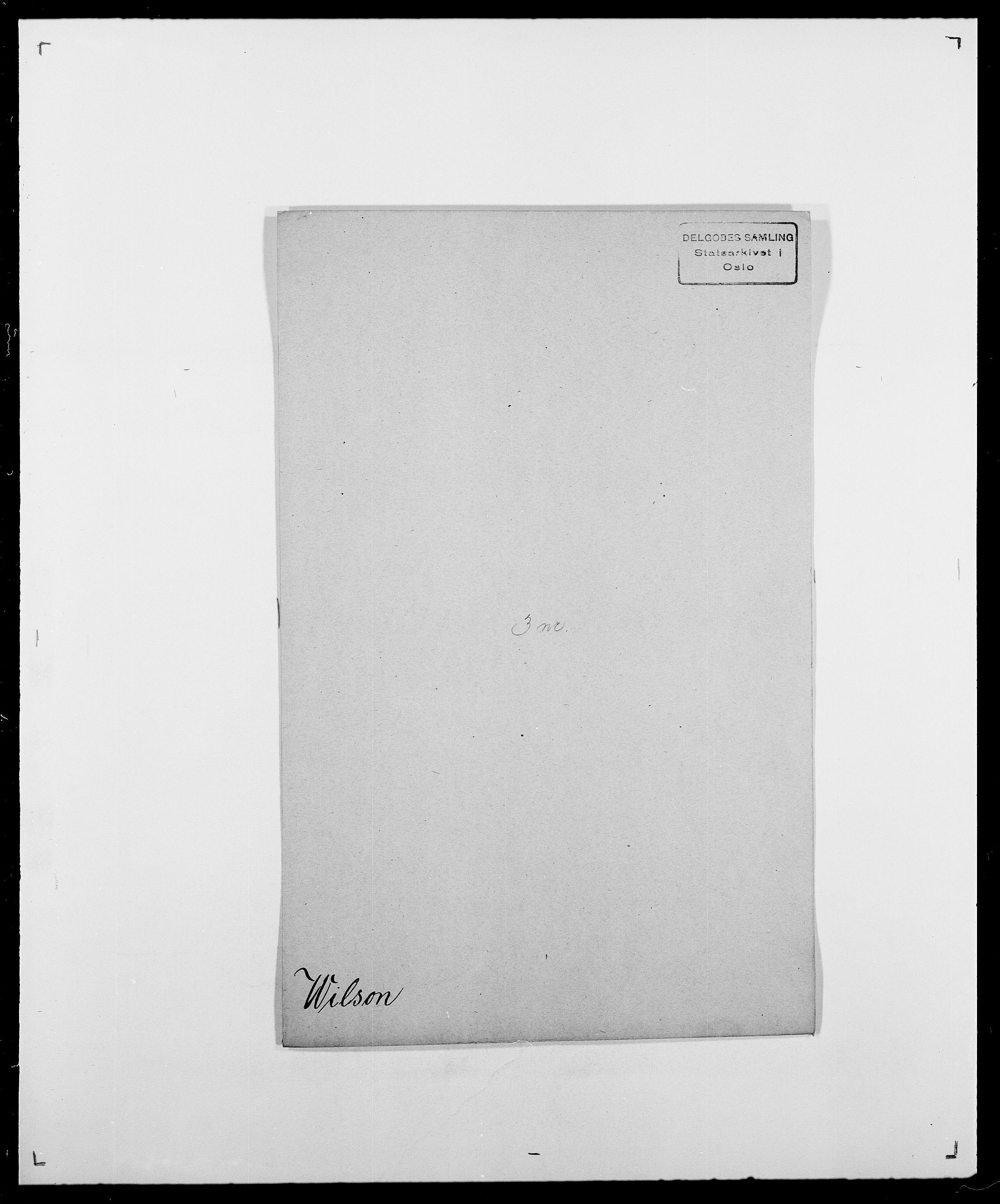 SAO, Delgobe, Charles Antoine - samling, D/Da/L0042: Vilain - Wulf, Wulff, se også Wolf, s. 118