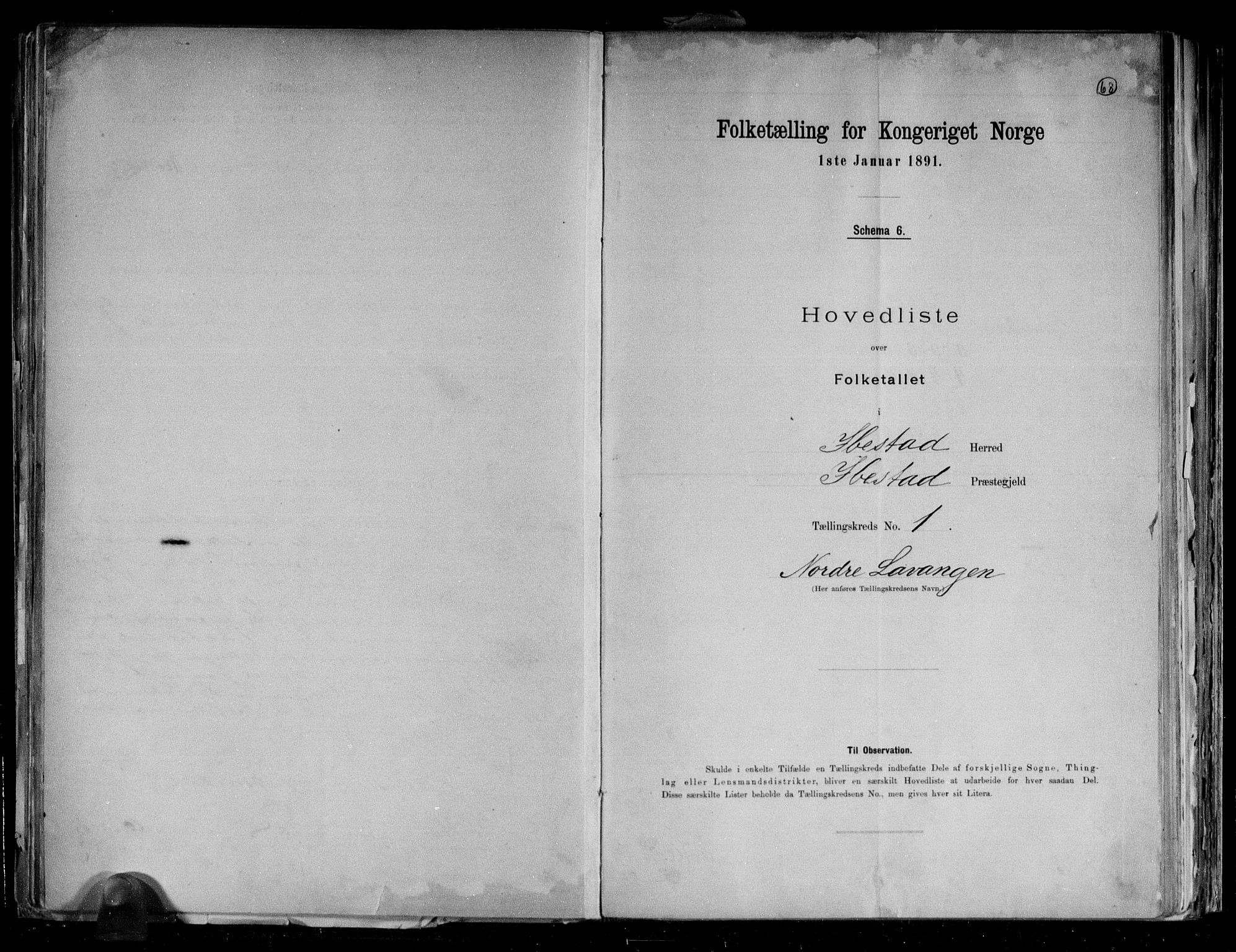 RA, Folketelling 1891 for 1917 Ibestad herred, 1891, s. 4