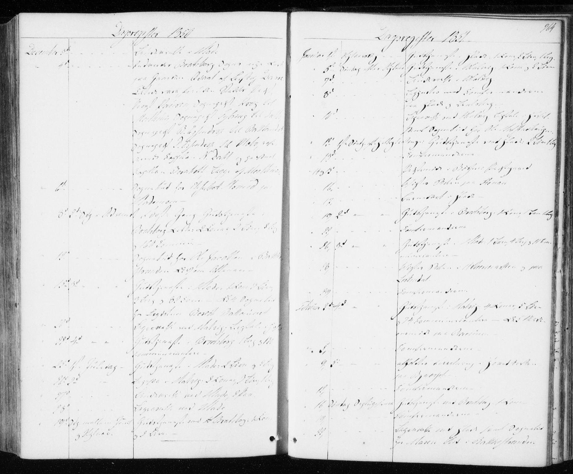SAT, Ministerialprotokoller, klokkerbøker og fødselsregistre - Sør-Trøndelag, 606/L0291: Ministerialbok nr. 606A06, 1848-1856, s. 364