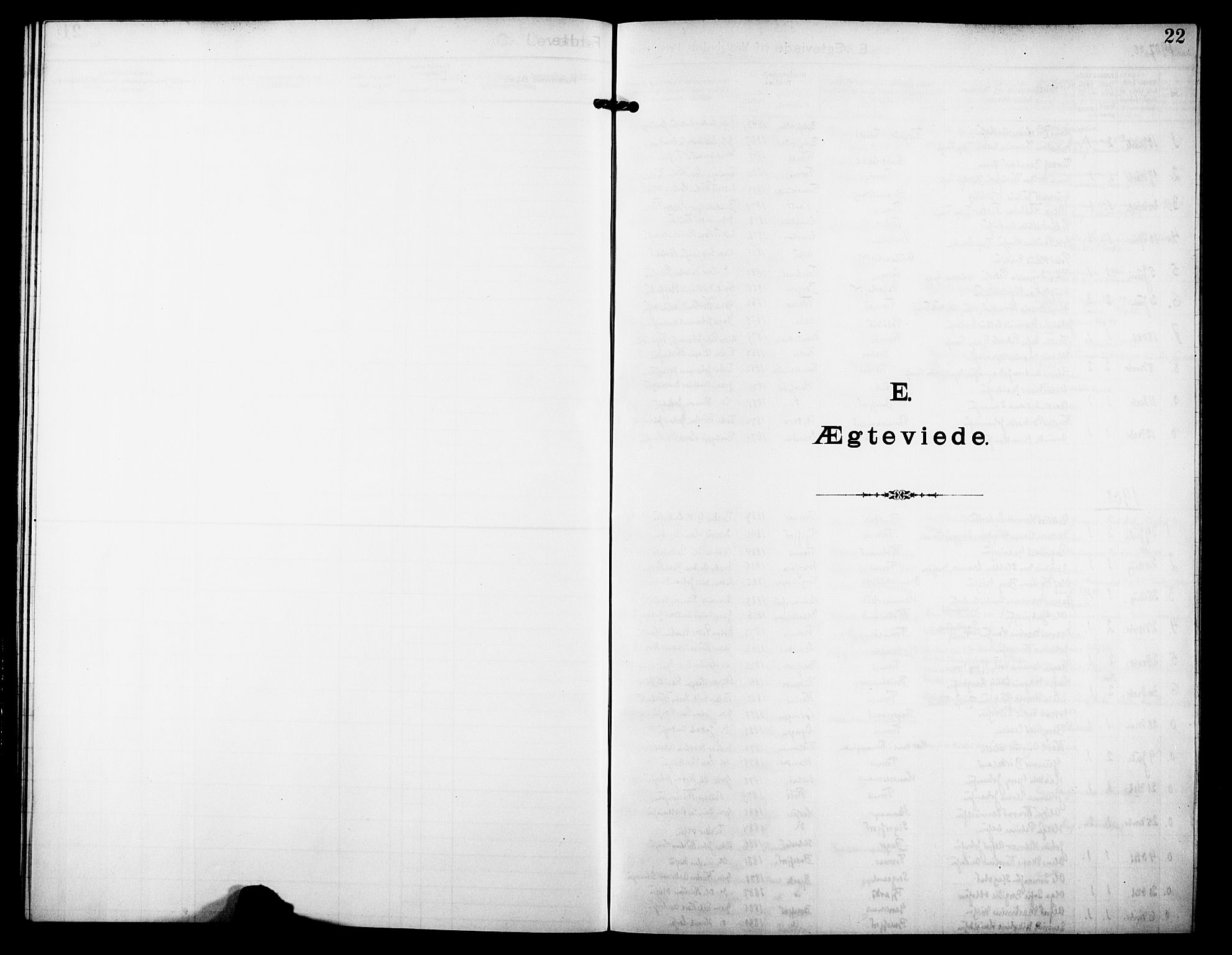 SATØ, Tromsø sokneprestkontor/stiftsprosti/domprosti, G/Ge/L0068: Dissenterprotokoll nr. 68, 1907-1917, s. 22