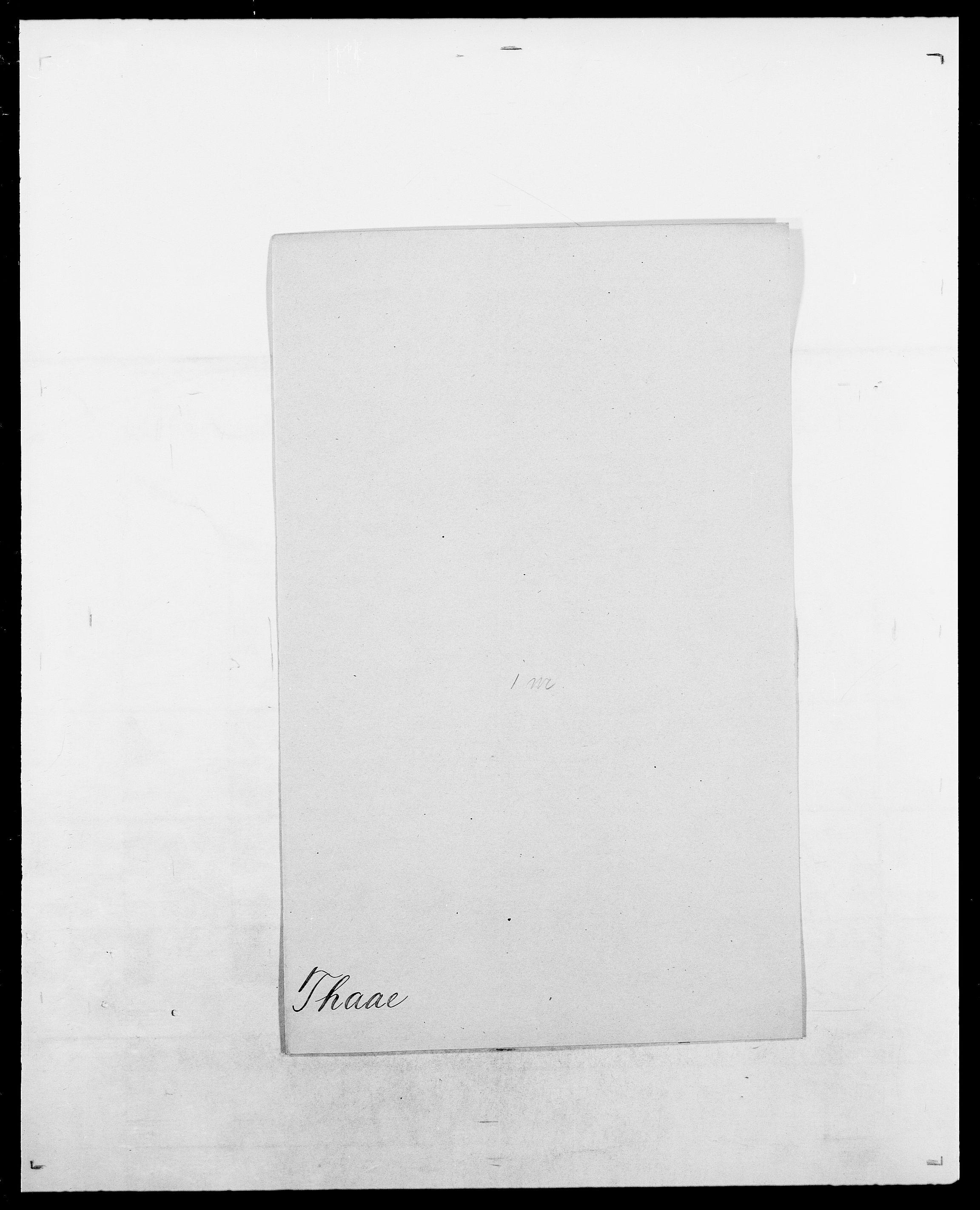 SAO, Delgobe, Charles Antoine - samling, D/Da/L0038: Svanenskjold - Thornsohn, s. 426