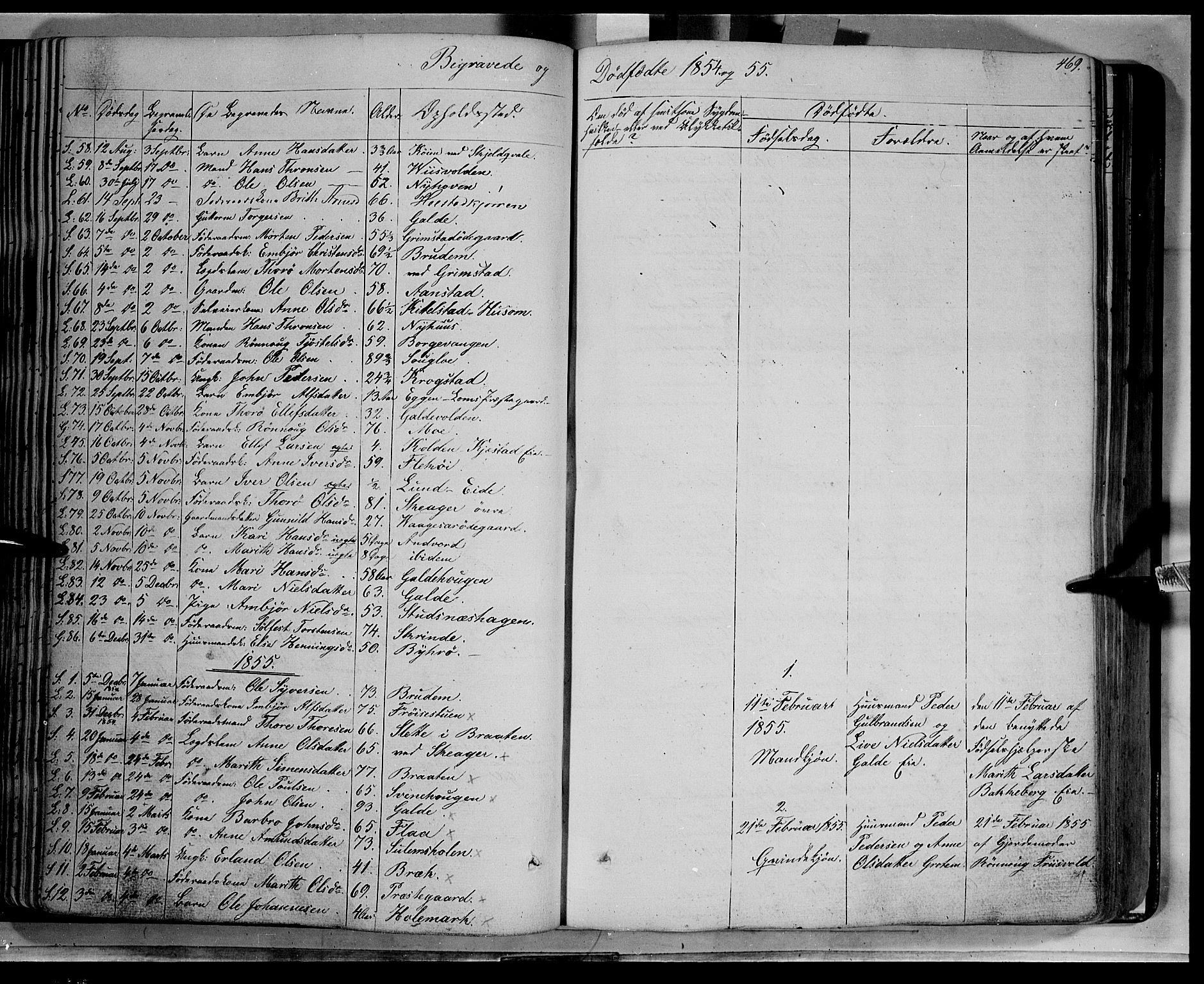 SAH, Lom prestekontor, K/L0006: Ministerialbok nr. 6B, 1837-1863, s. 469