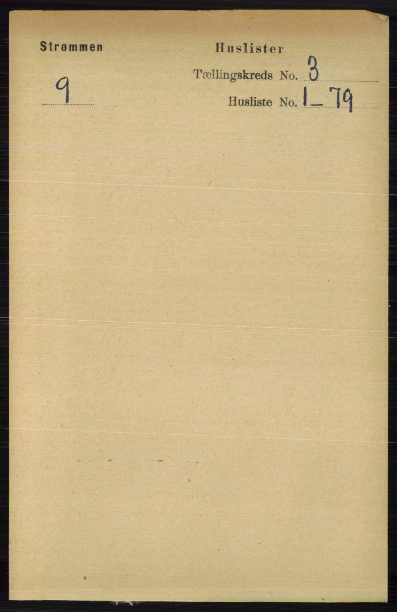 RA, Folketelling 1891 for 0711 Strømm herred, 1891, s. 987