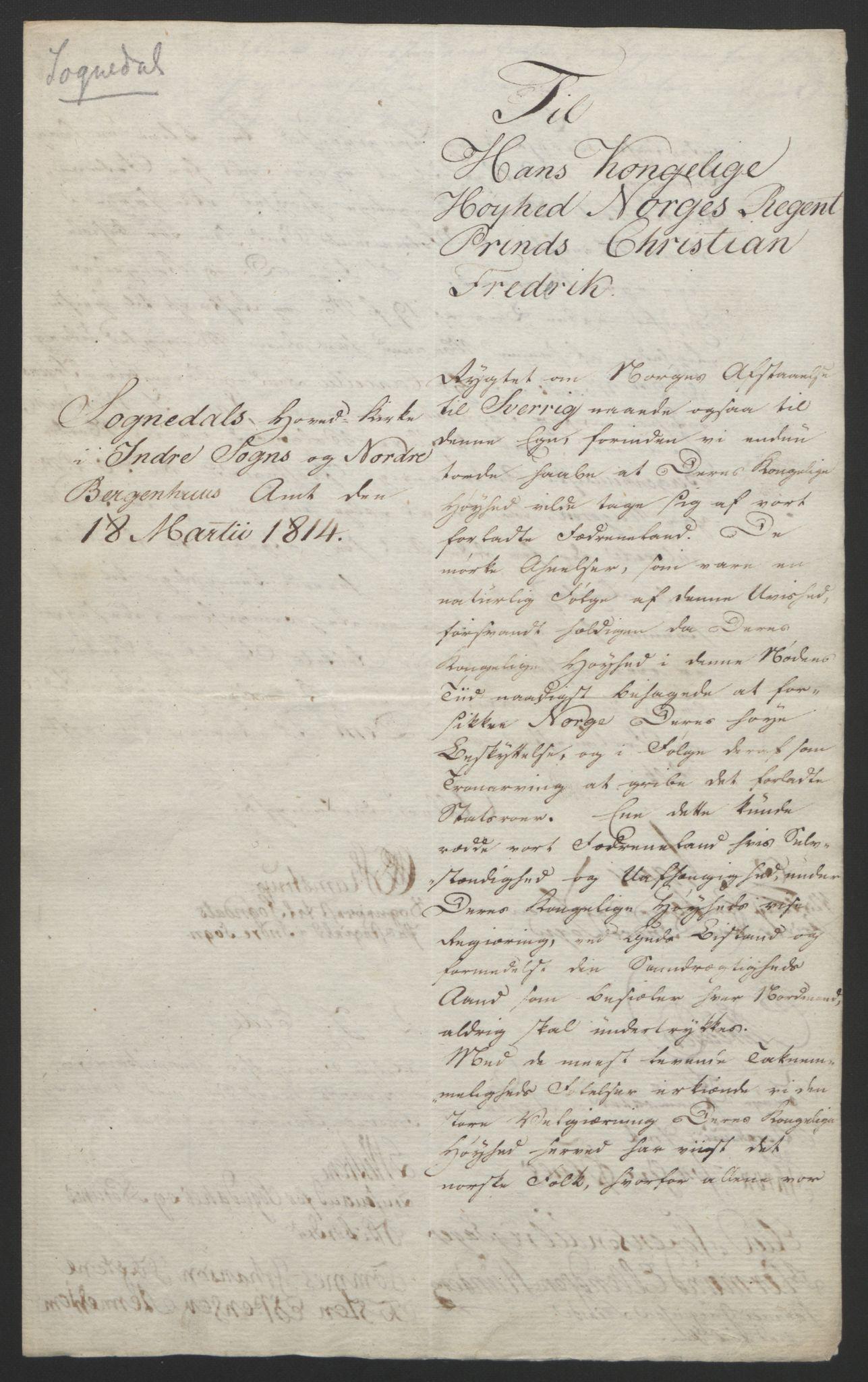 RA, Statsrådssekretariatet, D/Db/L0008: Fullmakter for Eidsvollsrepresentantene i 1814. , 1814, s. 344