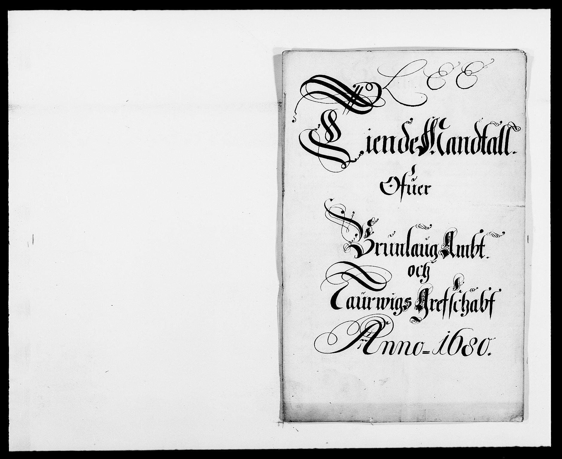 RA, Rentekammeret inntil 1814, Reviderte regnskaper, Fogderegnskap, R33/L1968: Fogderegnskap Larvik grevskap, 1675-1687, s. 426