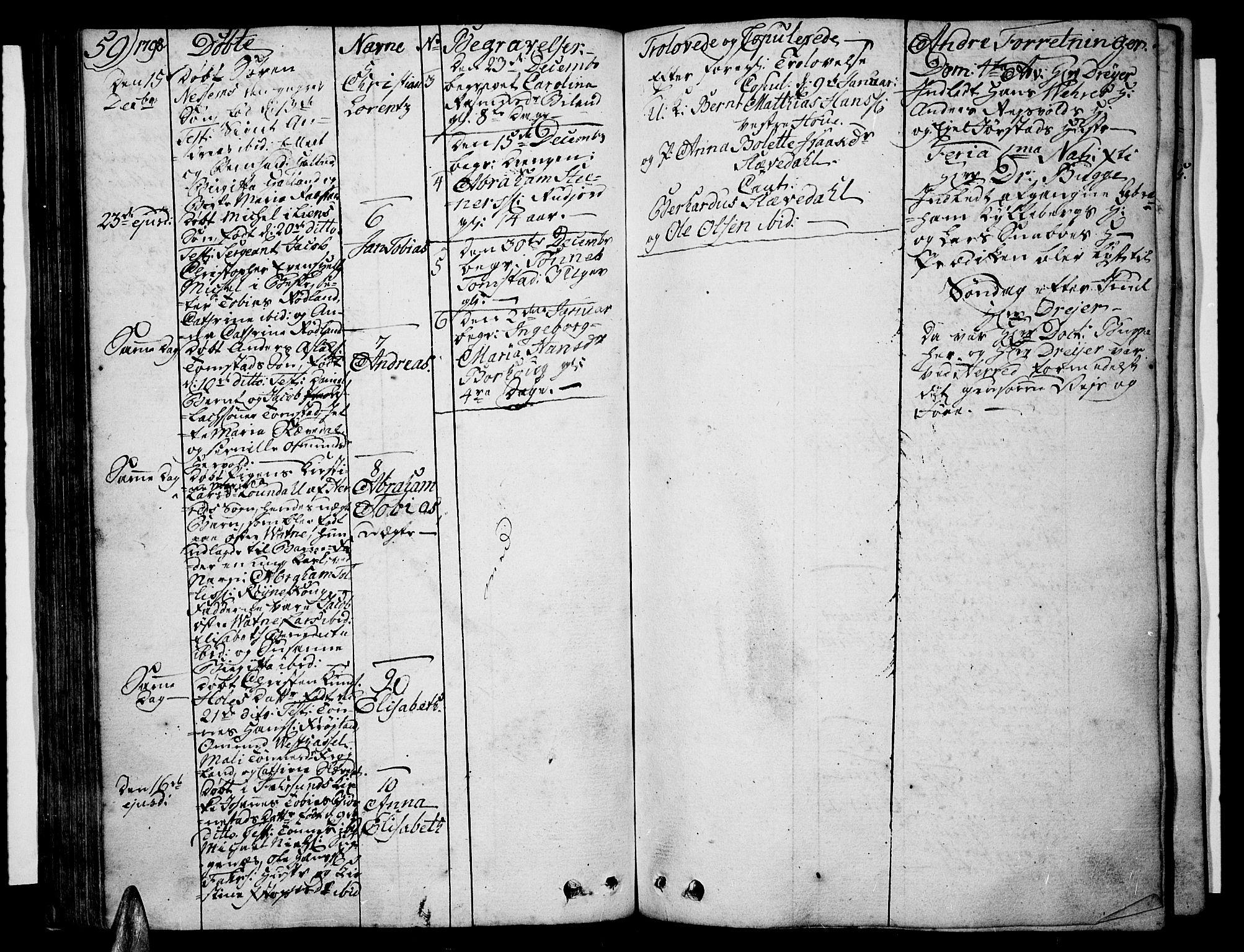 SAK, Lista sokneprestkontor, F/Fa/L0005: Ministerialbok nr. A 5, 1795-1823, s. 59
