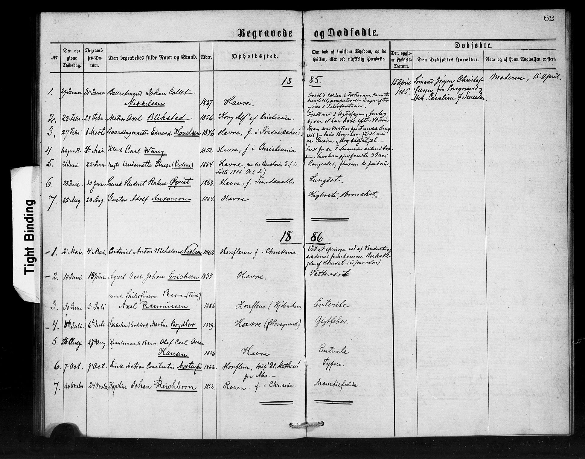SAB, Den Norske Sjømannsmisjon i utlandet*, Ministerialbok nr. A 1, 1873-1889, s. 62