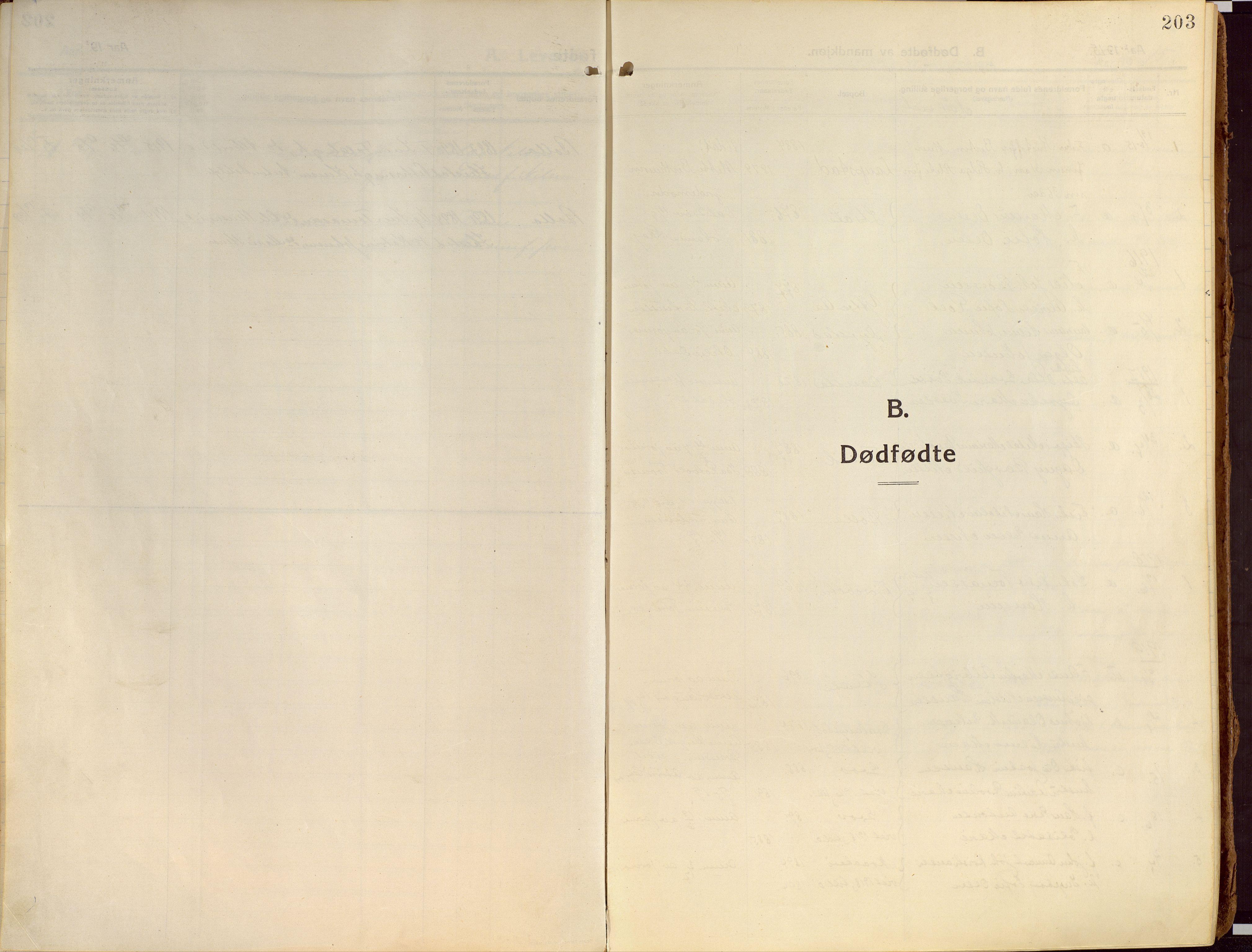 SATØ, Ibestad sokneprestembete, Ministerialbok nr. 18, 1915-1929, s. 203