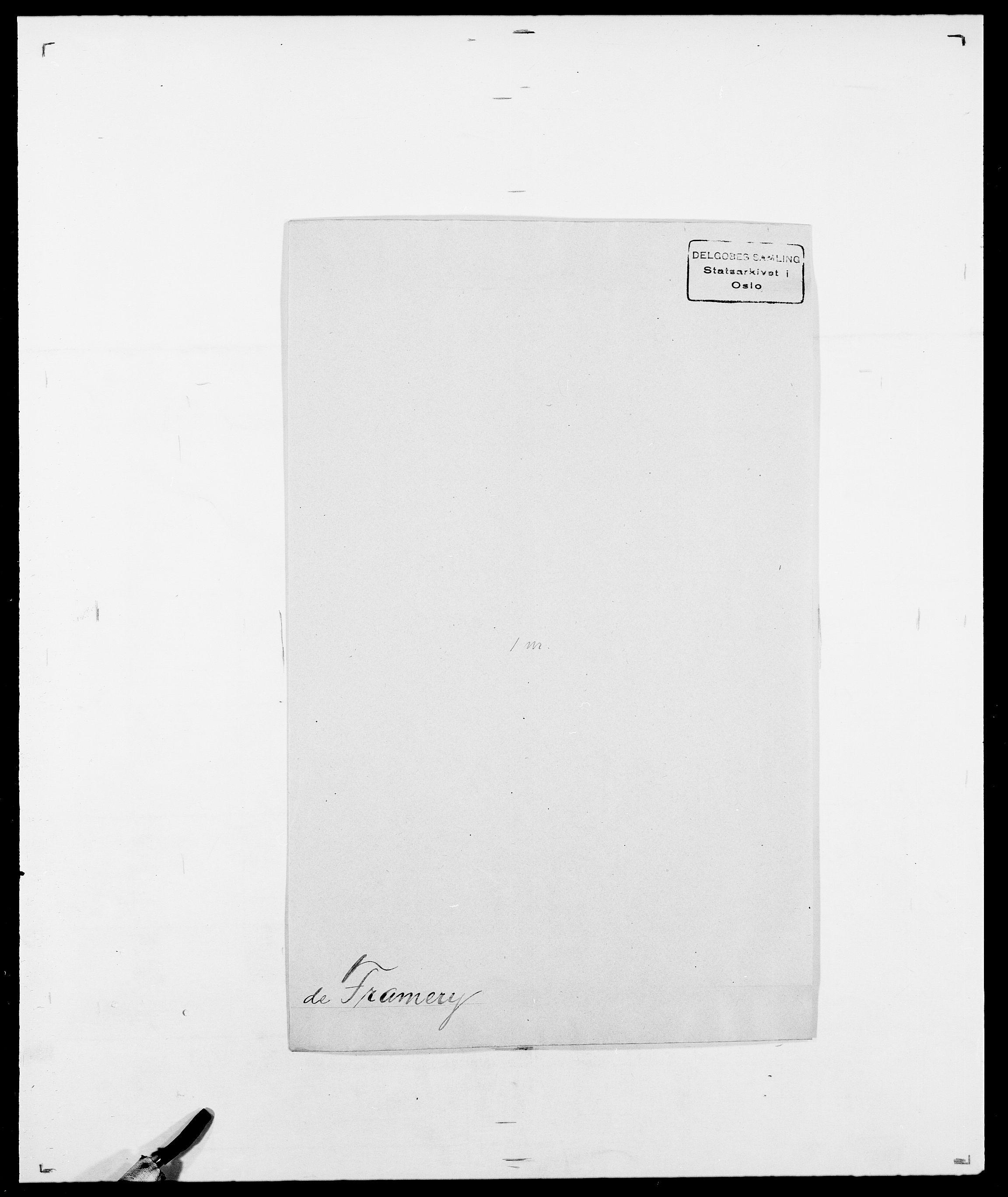SAO, Delgobe, Charles Antoine - samling, D/Da/L0012: Flor, Floer, Flohr - Fritzner, s. 692