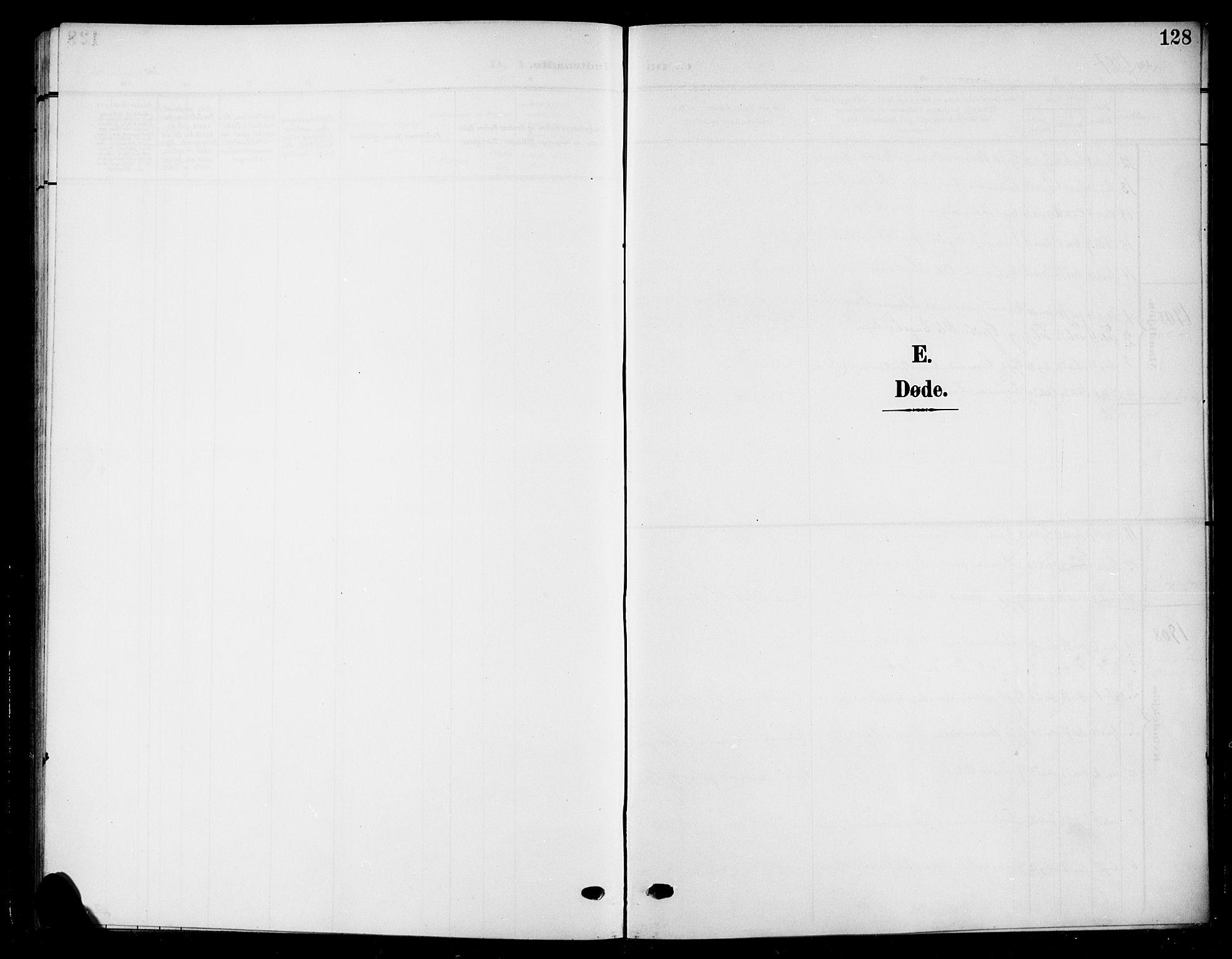 SAH, Nord-Aurdal prestekontor, Klokkerbok nr. 12, 1907-1920, s. 128
