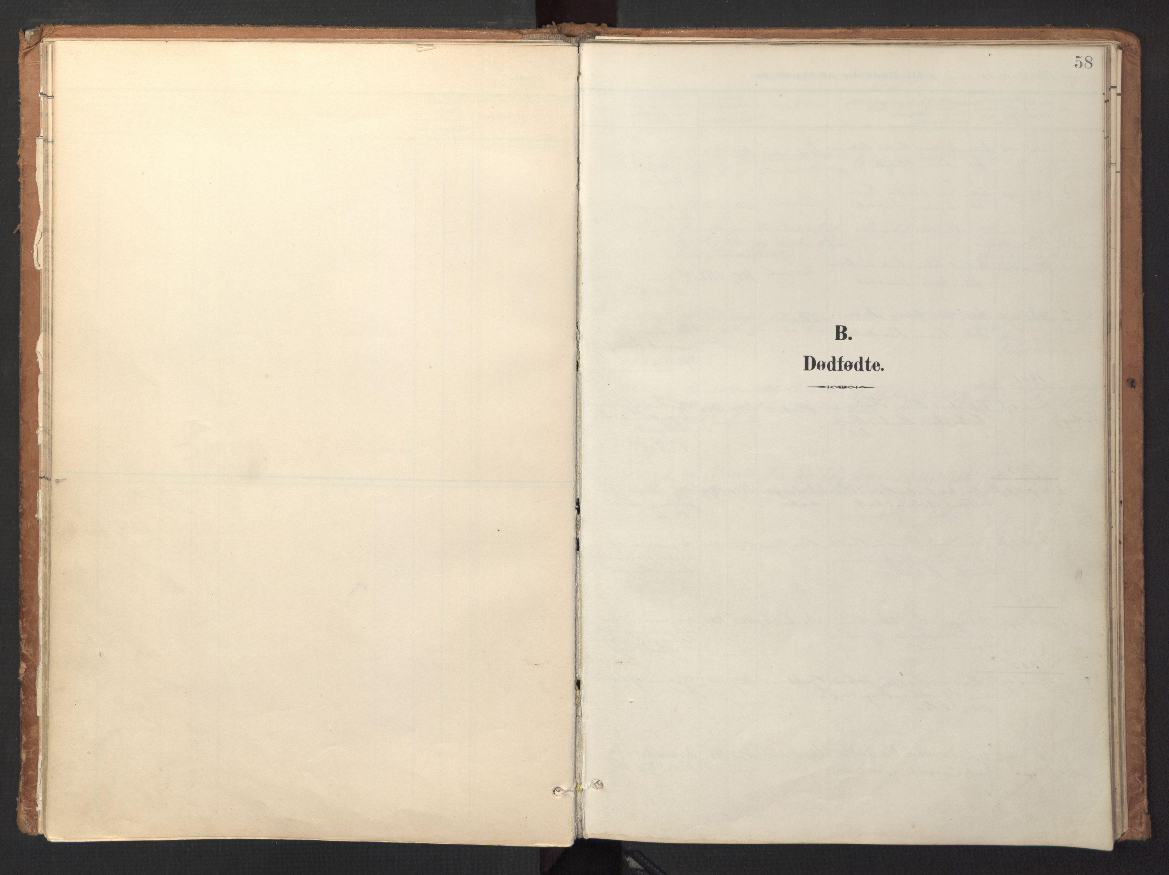 SAT, Ministerialprotokoller, klokkerbøker og fødselsregistre - Sør-Trøndelag, 618/L0448: Ministerialbok nr. 618A11, 1898-1916, s. 58