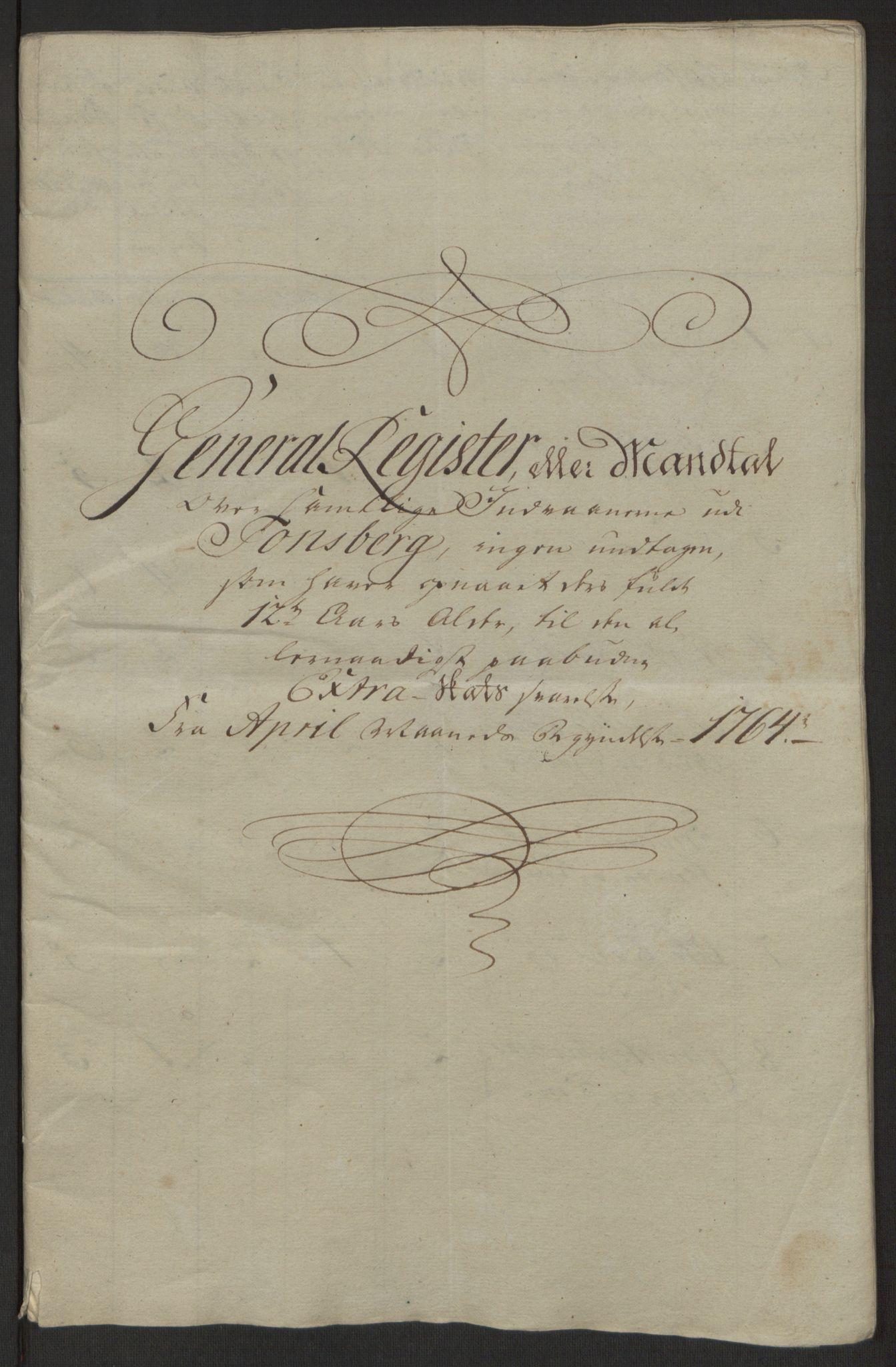RA, Rentekammeret inntil 1814, Reviderte regnskaper, Byregnskaper, R/Rh/L0162: [H4] Kontribusjonsregnskap, 1762-1772, s. 135