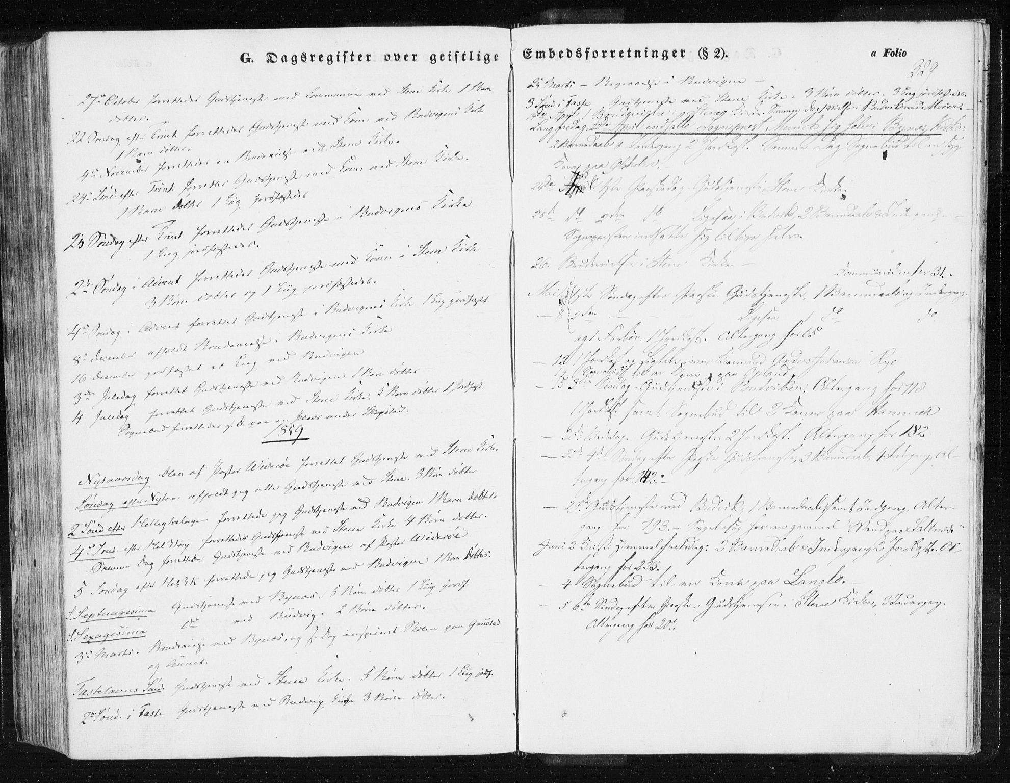 SAT, Ministerialprotokoller, klokkerbøker og fødselsregistre - Sør-Trøndelag, 612/L0376: Ministerialbok nr. 612A08, 1846-1859, s. 329