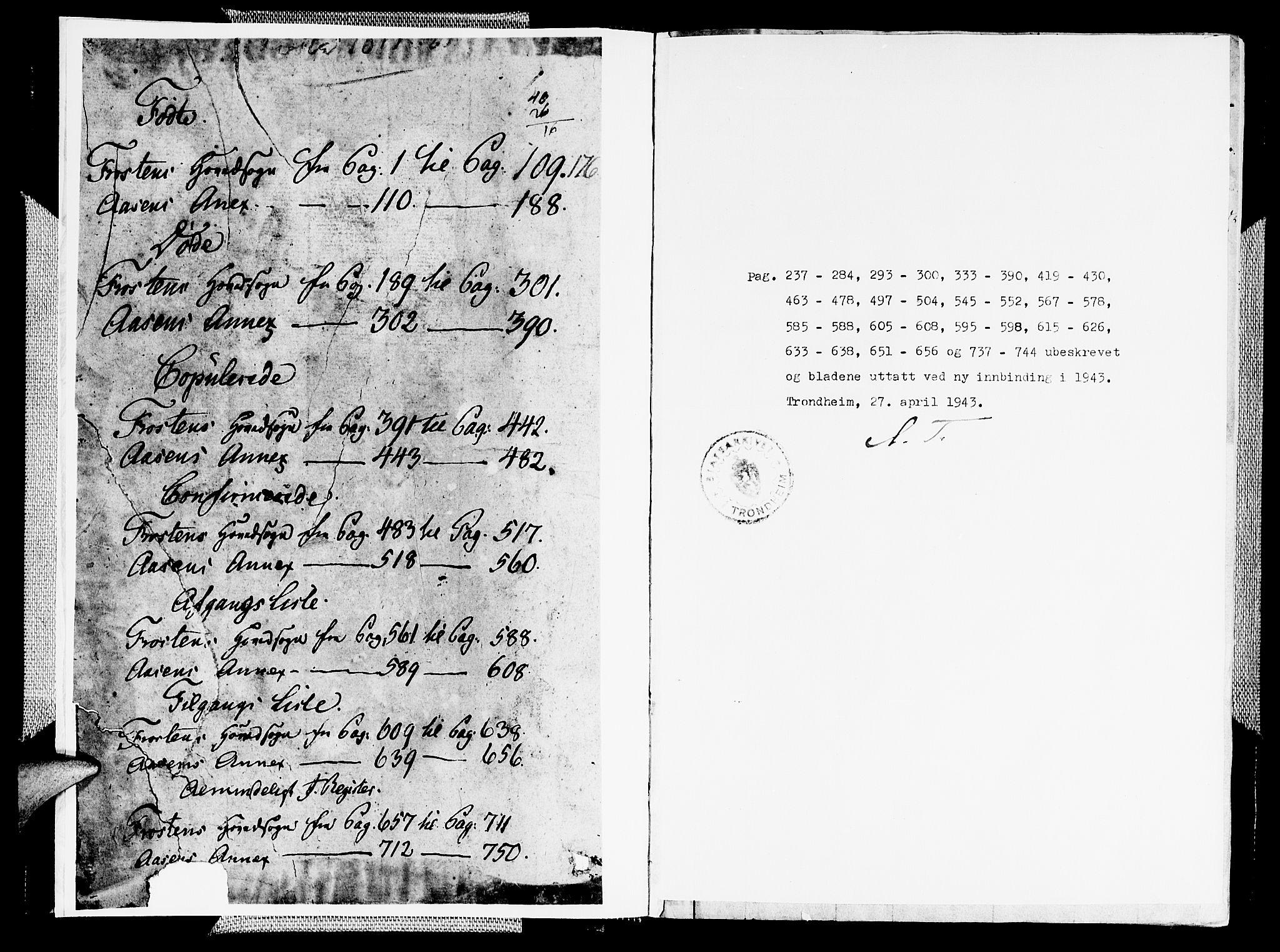 SAT, Ministerialprotokoller, klokkerbøker og fødselsregistre - Nord-Trøndelag, 713/L0112: Ministerialbok nr. 713A04 /2, 1817-1827