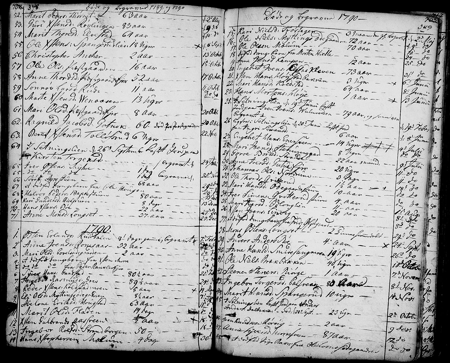 SAH, Ringebu prestekontor, Ministerialbok nr. 3, 1781-1820, s. 348-349