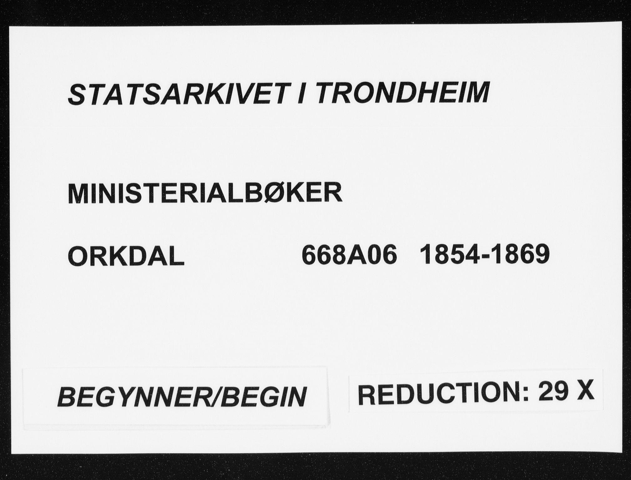 SAT, Ministerialprotokoller, klokkerbøker og fødselsregistre - Sør-Trøndelag, 668/L0806: Ministerialbok nr. 668A06, 1854-1869