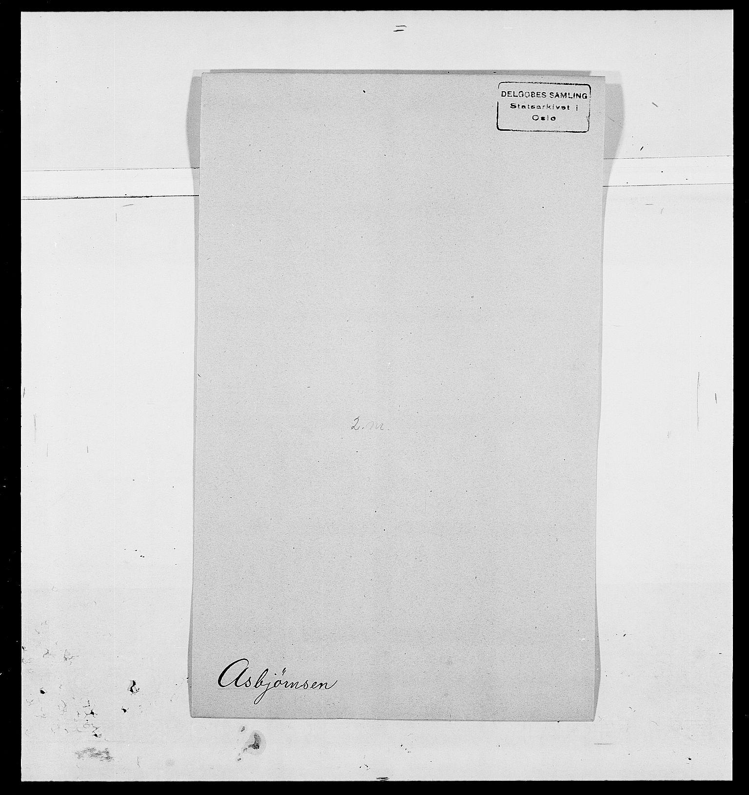SAO, Delgobe, Charles Antoine - samling, D/Da/L0002: Anker, Ancher - Bauner, s. 395