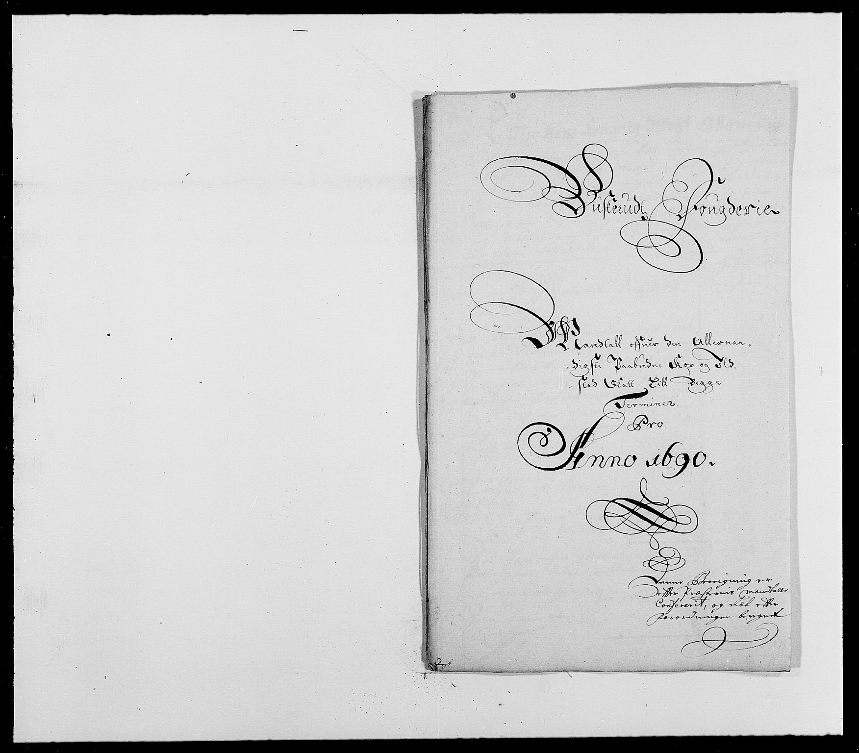 RA, Rentekammeret inntil 1814, Reviderte regnskaper, Fogderegnskap, R25/L1680: Fogderegnskap Buskerud, 1689-1690, s. 436