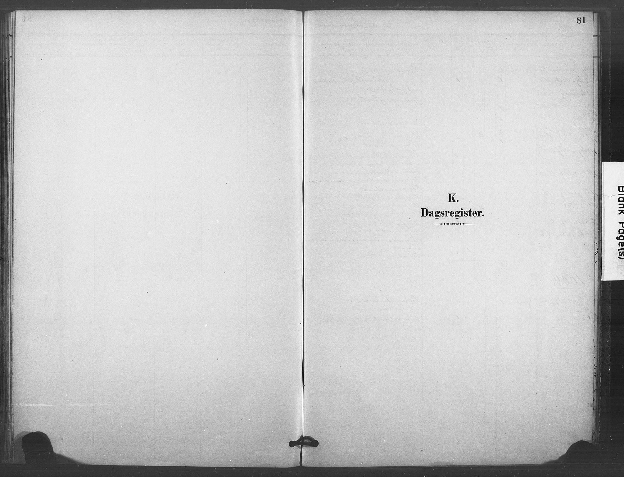 SAKO, Kongsberg kirkebøker, F/Fc/L0001: Ministerialbok nr. III 1, 1883-1897, s. 81