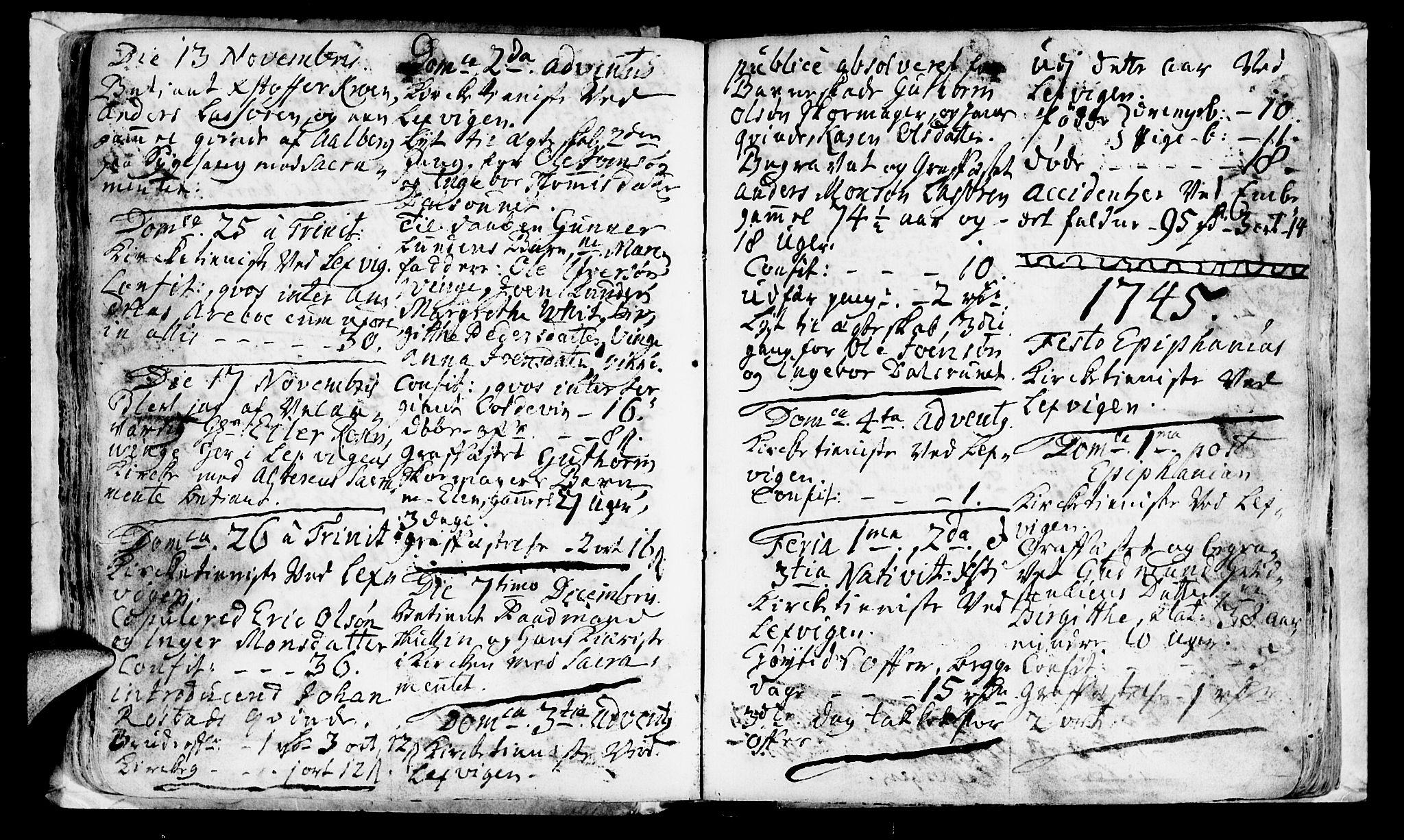 SAT, Ministerialprotokoller, klokkerbøker og fødselsregistre - Nord-Trøndelag, 701/L0002: Ministerialbok nr. 701A02 /1, 1738-1752