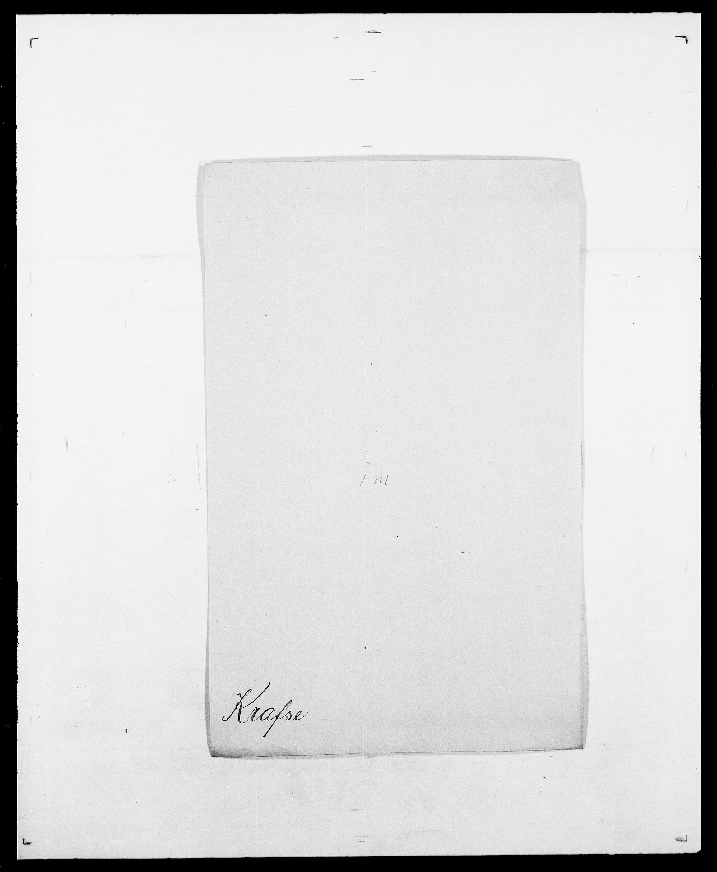 SAO, Delgobe, Charles Antoine - samling, D/Da/L0021: Klagenberg - Kristoft, s. 626