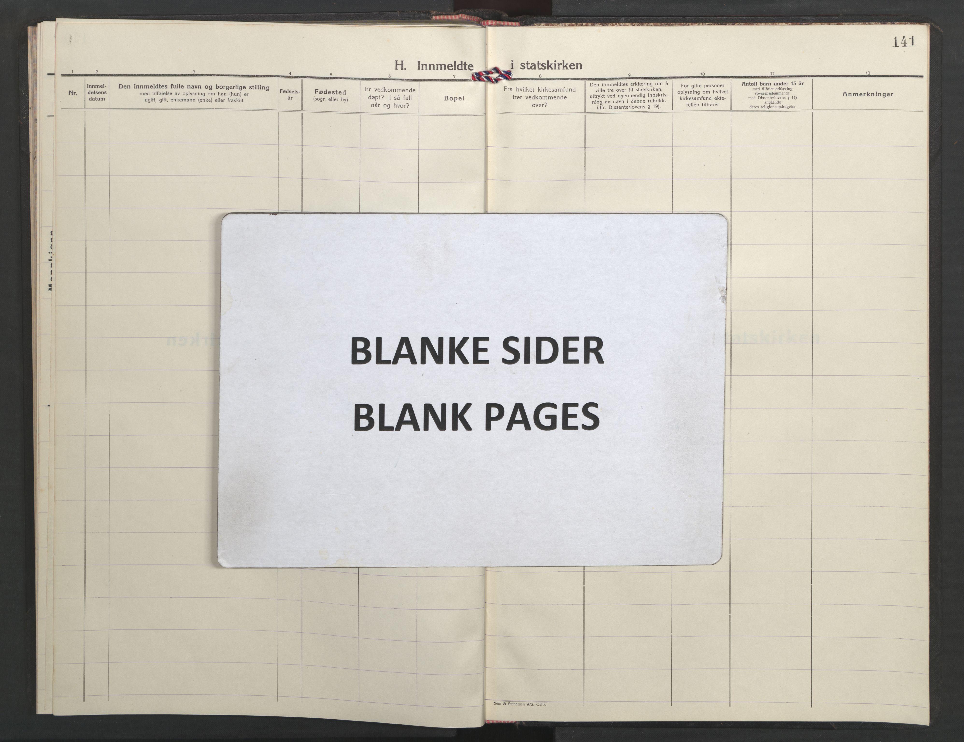 SAT, Ministerialprotokoller, klokkerbøker og fødselsregistre - Sør-Trøndelag, 635/L0556: Klokkerbok nr. 635C04, 1943-1945, s. 141