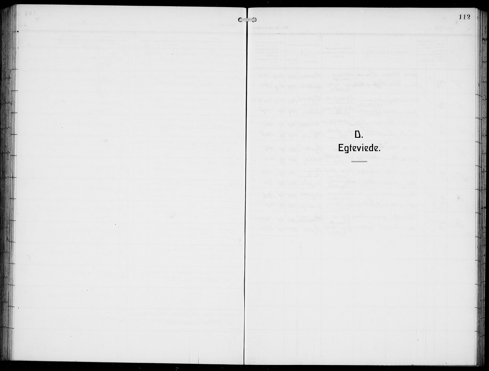 SAB, Innvik Sokneprestembete, Klokkerbok nr. A 4, 1913-1936, s. 112