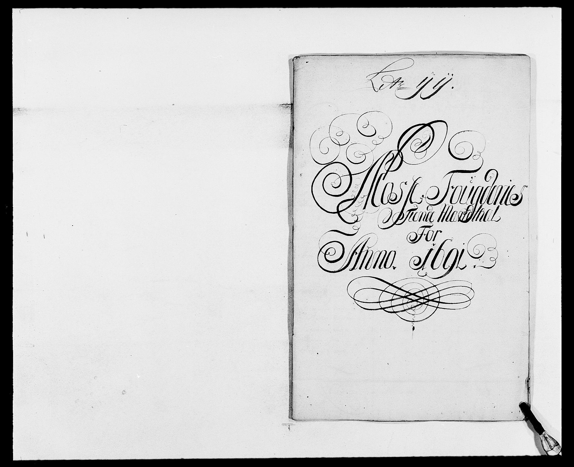 RA, Rentekammeret inntil 1814, Reviderte regnskaper, Fogderegnskap, R02/L0106: Fogderegnskap Moss og Verne kloster, 1688-1691, s. 468