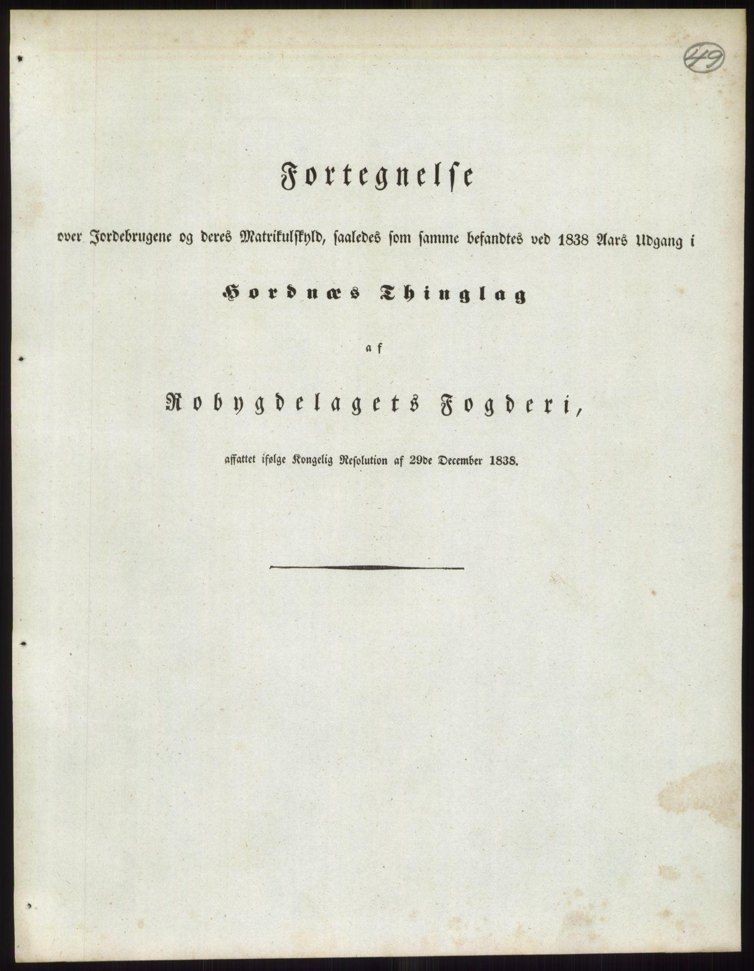RA, 1838-matrikkelen (publikasjon)*, 1838, s. 49