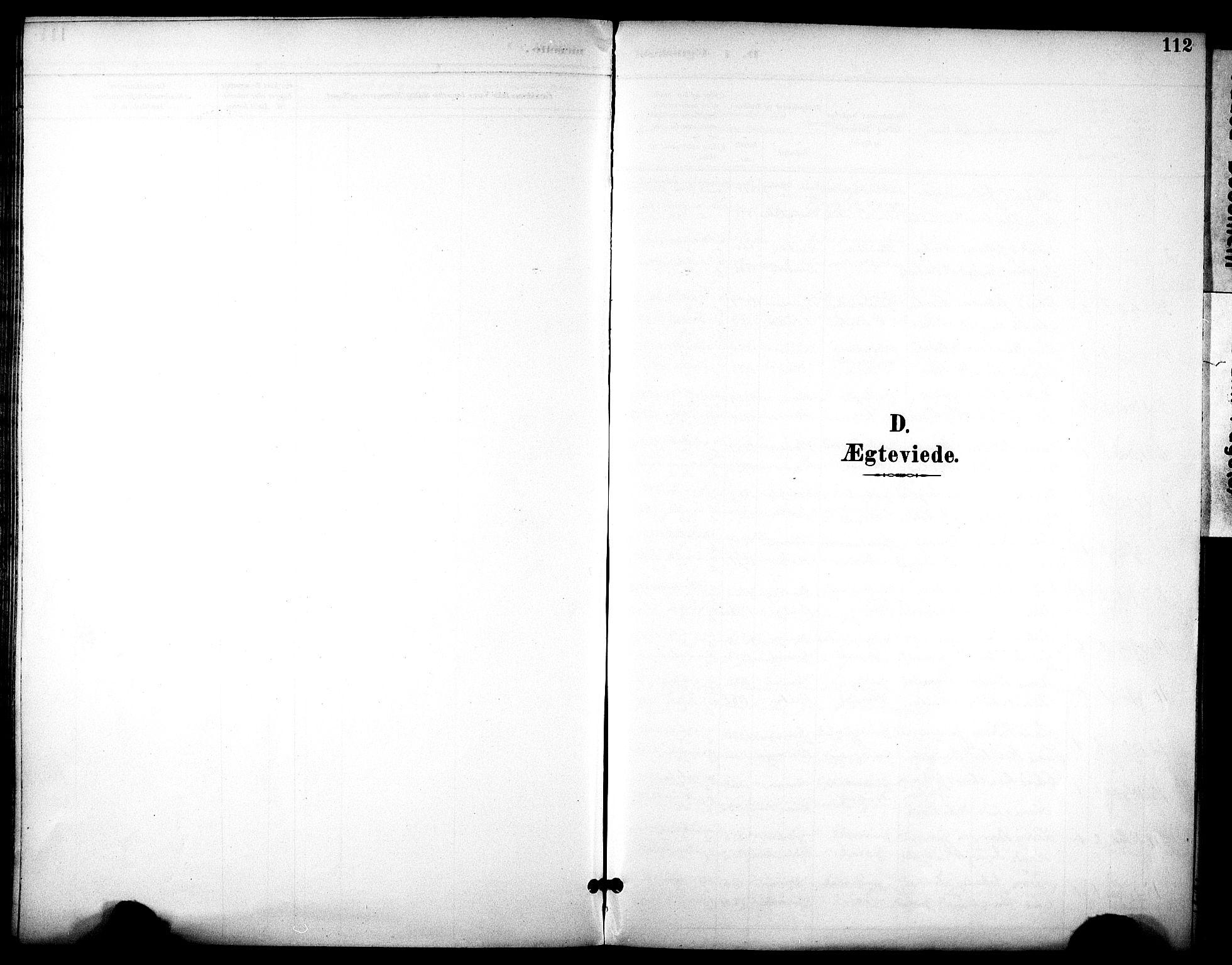SAT, Ministerialprotokoller, klokkerbøker og fødselsregistre - Sør-Trøndelag, 686/L0984: Ministerialbok nr. 686A02, 1891-1906, s. 112