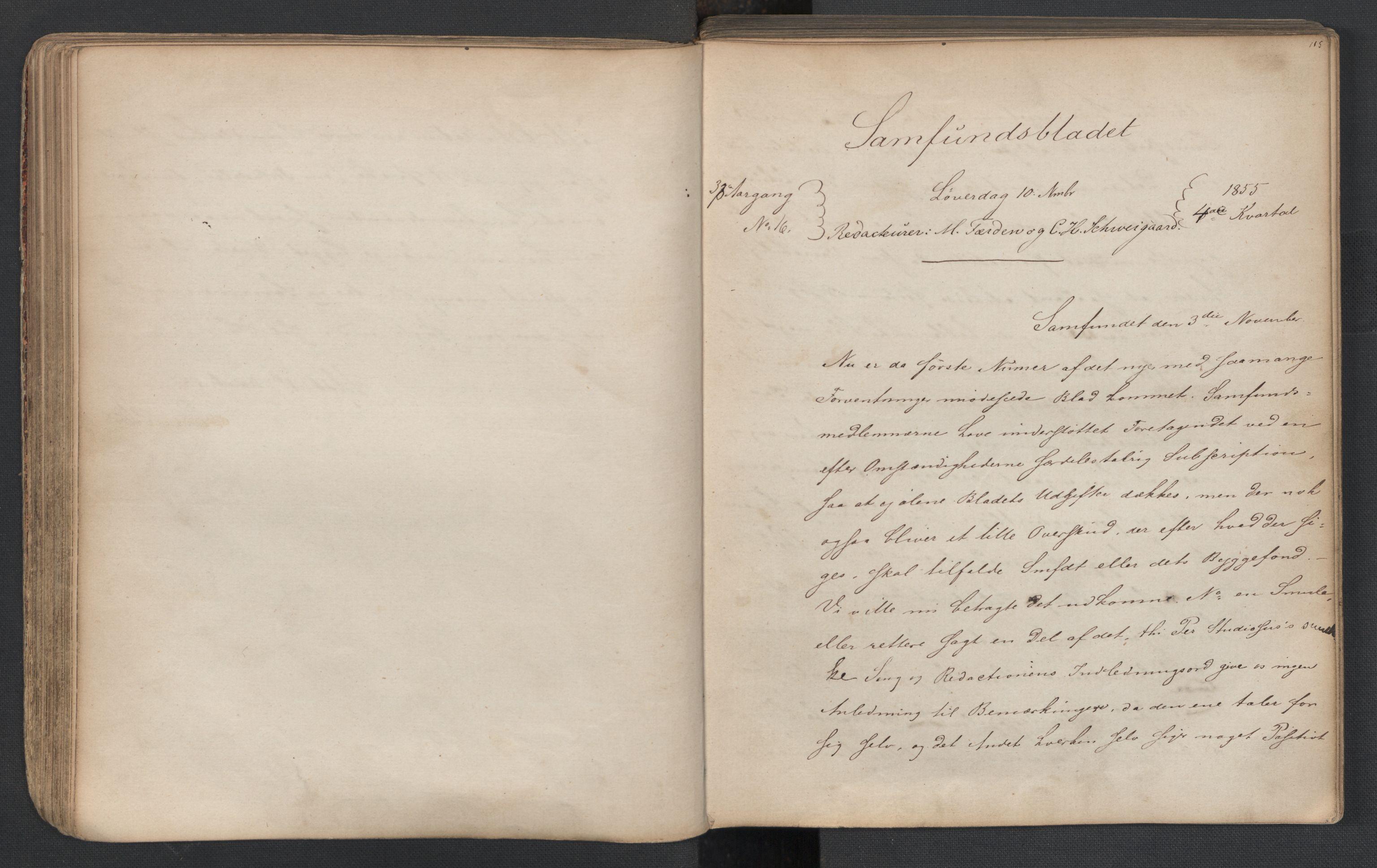 RA, Det Norske Studentersamfund, X/Xa/L0005, 1855-1856, s. 54