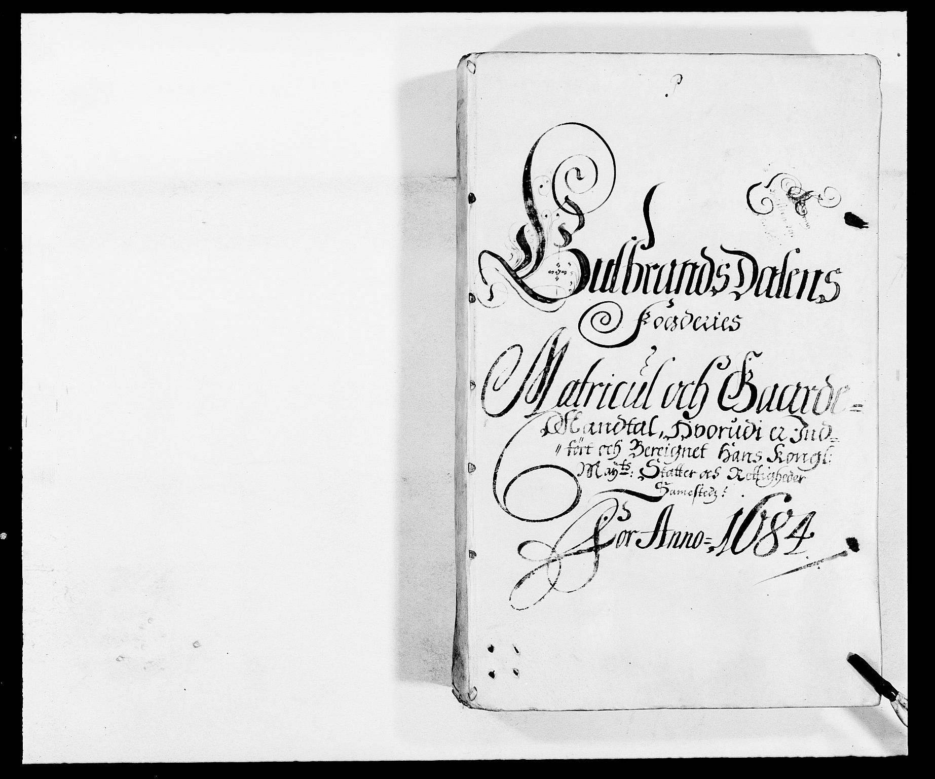 RA, Rentekammeret inntil 1814, Reviderte regnskaper, Fogderegnskap, R17/L1159: Fogderegnskap Gudbrandsdal, 1682-1689, s. 67