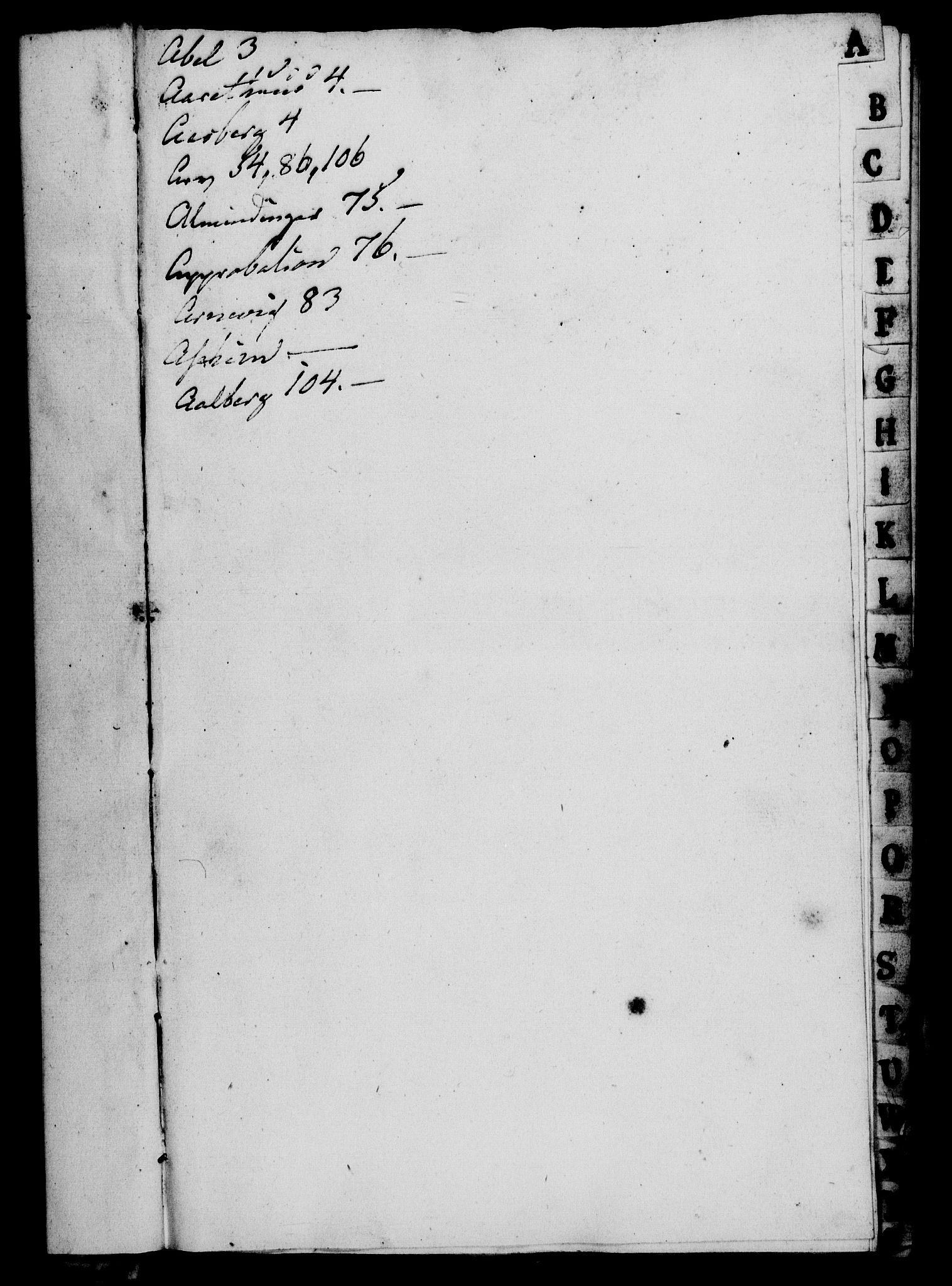 RA, Rentekammeret, Kammerkanselliet, G/Gf/Gfa/L0065: Norsk relasjons- og resolusjonsprotokoll (merket RK 52.65), 1783, s. 3