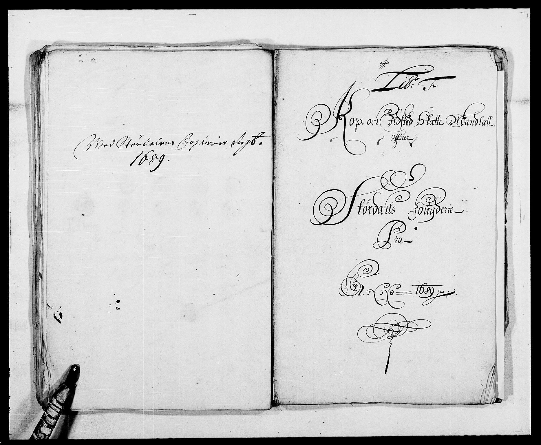 RA, Rentekammeret inntil 1814, Reviderte regnskaper, Fogderegnskap, R62/L4183: Fogderegnskap Stjørdal og Verdal, 1687-1689, s. 340