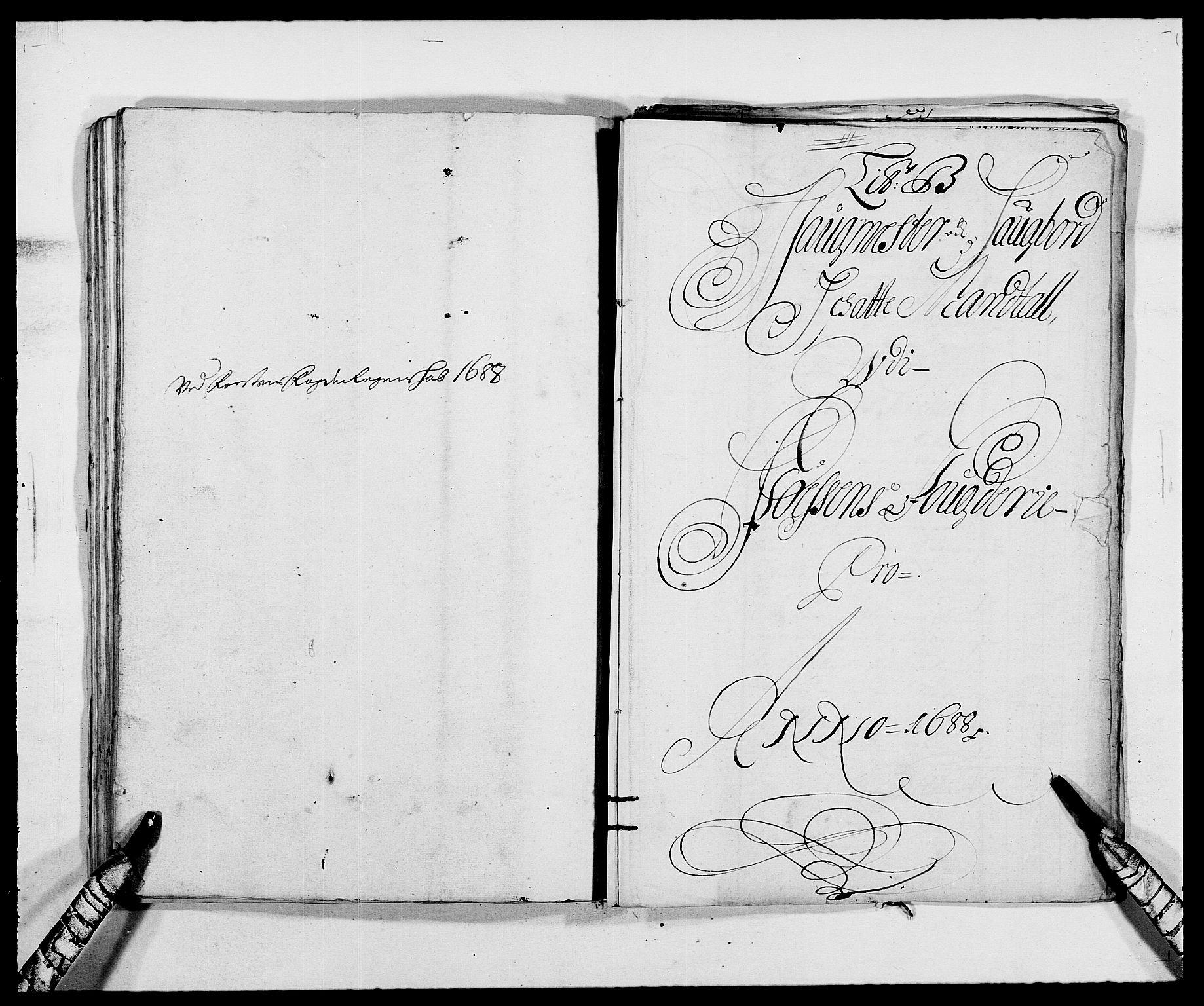 RA, Rentekammeret inntil 1814, Reviderte regnskaper, Fogderegnskap, R57/L3846: Fogderegnskap Fosen, 1688, s. 67