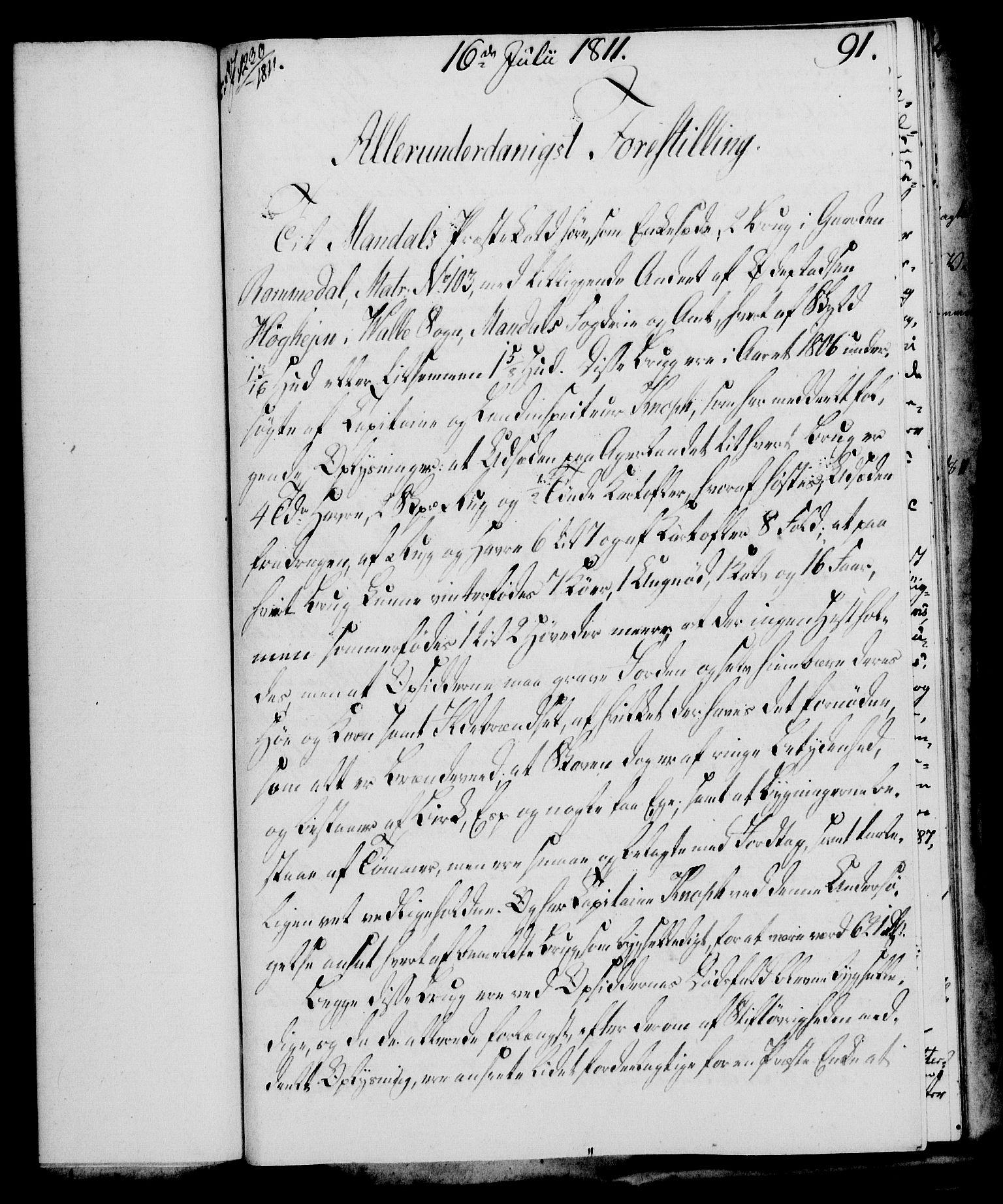 RA, Rentekammeret, Kammerkanselliet, G/Gf/Gfa/L0093: Norsk relasjons- og resolusjonsprotokoll (merket RK 52.93), 1811, s. 363