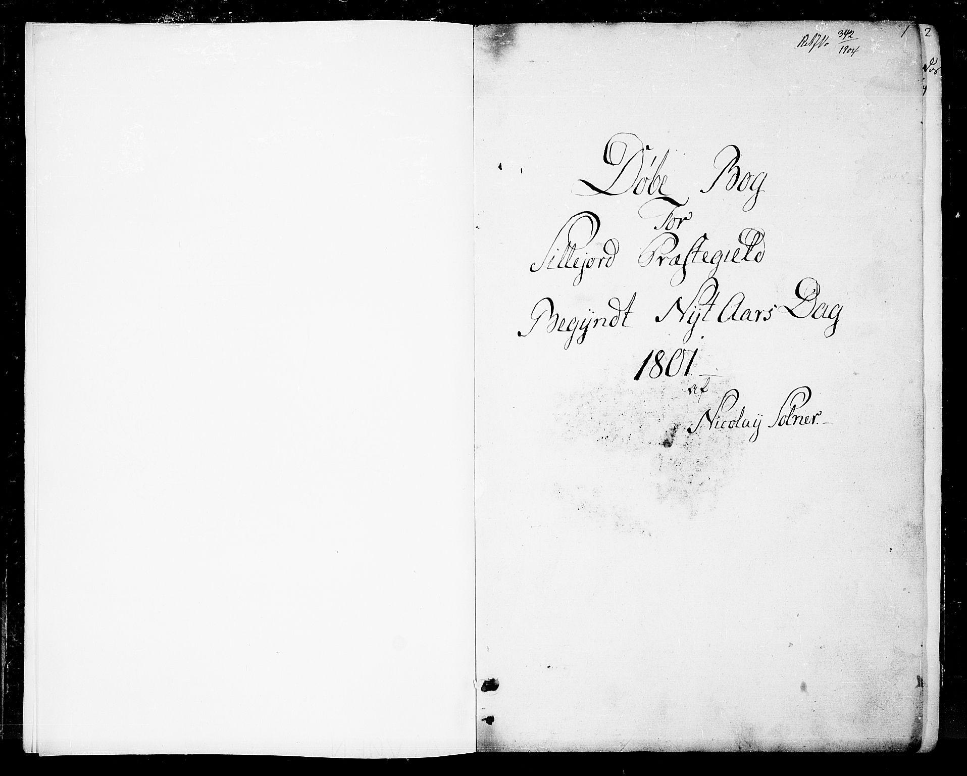 SAKO, Seljord kirkebøker, F/Fa/L0009: Ministerialbok nr. I 9, 1801-1814, s. 1