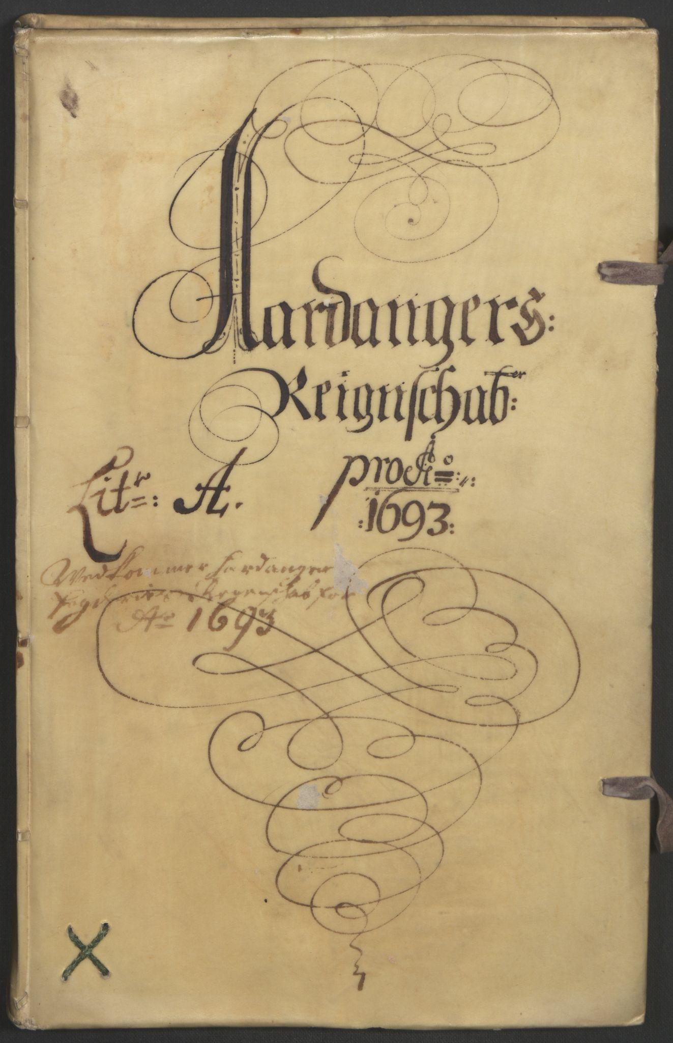 RA, Rentekammeret inntil 1814, Reviderte regnskaper, Fogderegnskap, R48/L2974: Fogderegnskap Sunnhordland og Hardanger, 1693, s. 143