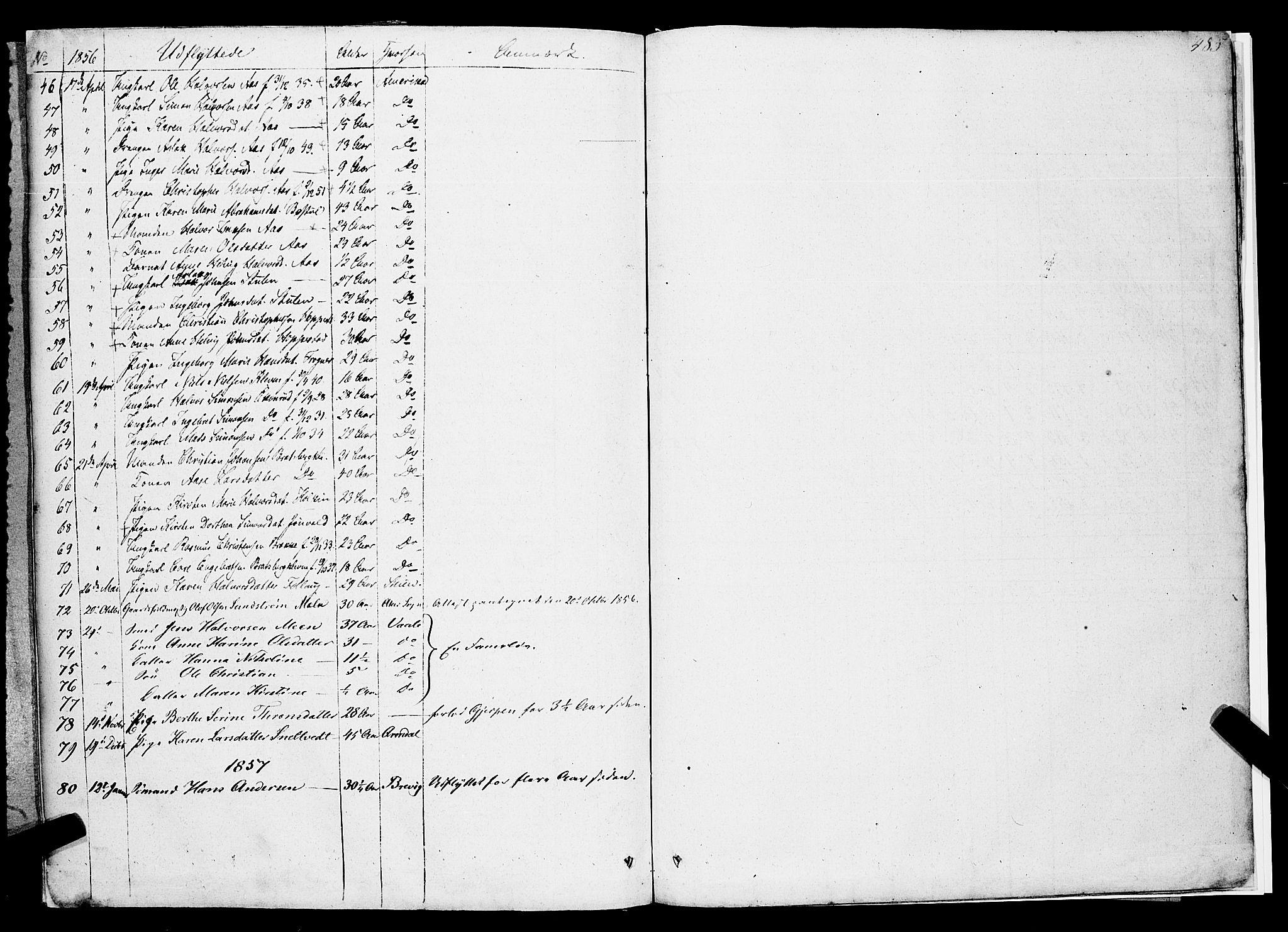 SAKO, Gjerpen kirkebøker, F/Fa/L0007b: Ministerialbok nr. 7B, 1834-1857, s. 485