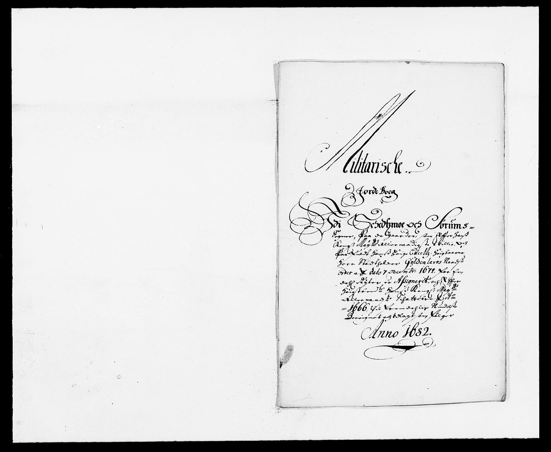 RA, Rentekammeret inntil 1814, Reviderte regnskaper, Fogderegnskap, R11/L0570: Fogderegnskap Nedre Romerike, 1682, s. 282