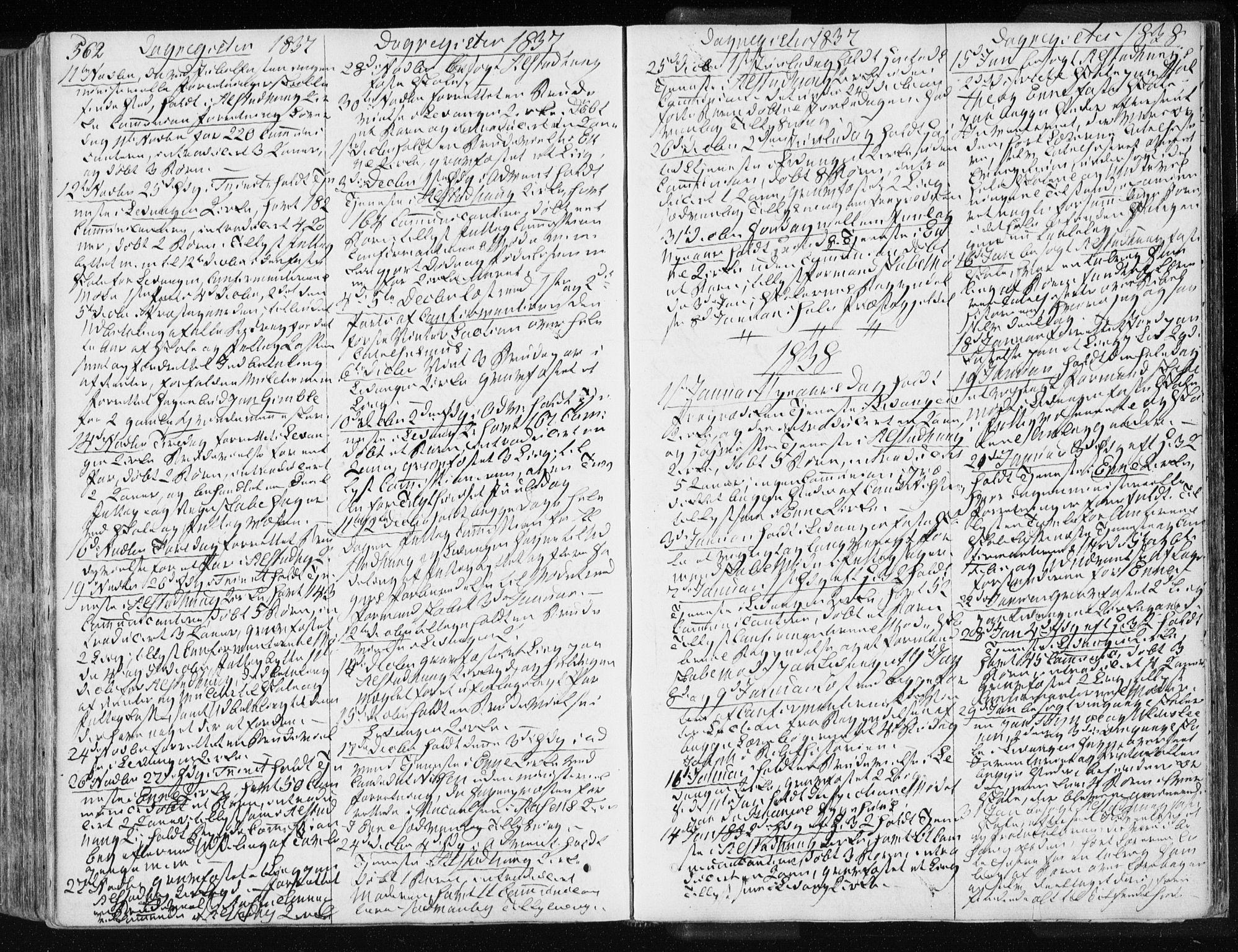 SAT, Ministerialprotokoller, klokkerbøker og fødselsregistre - Nord-Trøndelag, 717/L0154: Ministerialbok nr. 717A06 /1, 1836-1849, s. 562