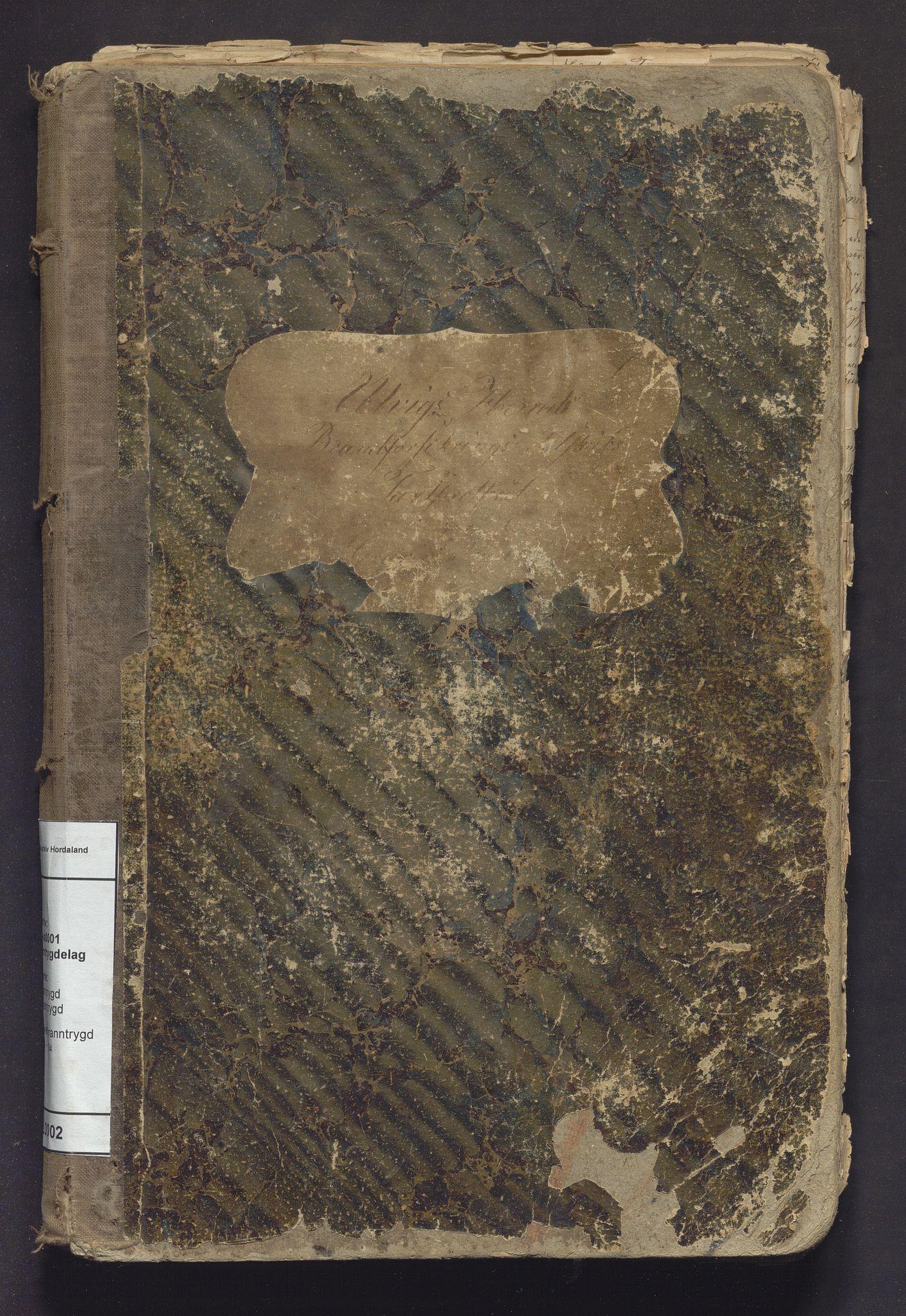 IKAH, Ulvik branntrygdelag, F/Fa/L0002: Protokoll over branntrygd, 1870-1884