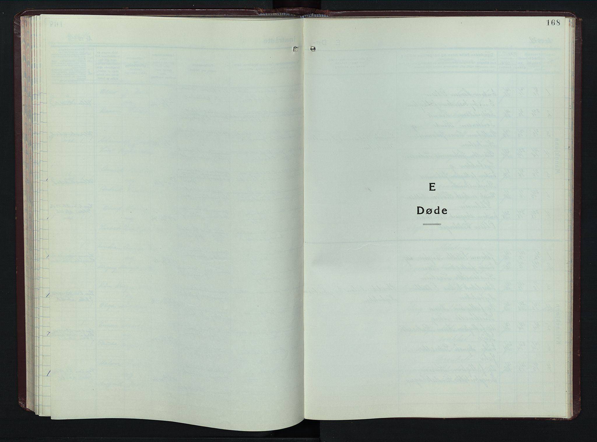 SAH, Øyer prestekontor, Klokkerbok nr. 8, 1929-1947, s. 168