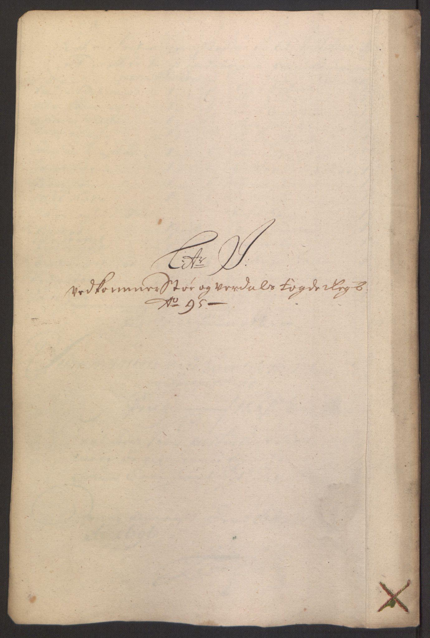 RA, Rentekammeret inntil 1814, Reviderte regnskaper, Fogderegnskap, R62/L4187: Fogderegnskap Stjørdal og Verdal, 1695, s. 130