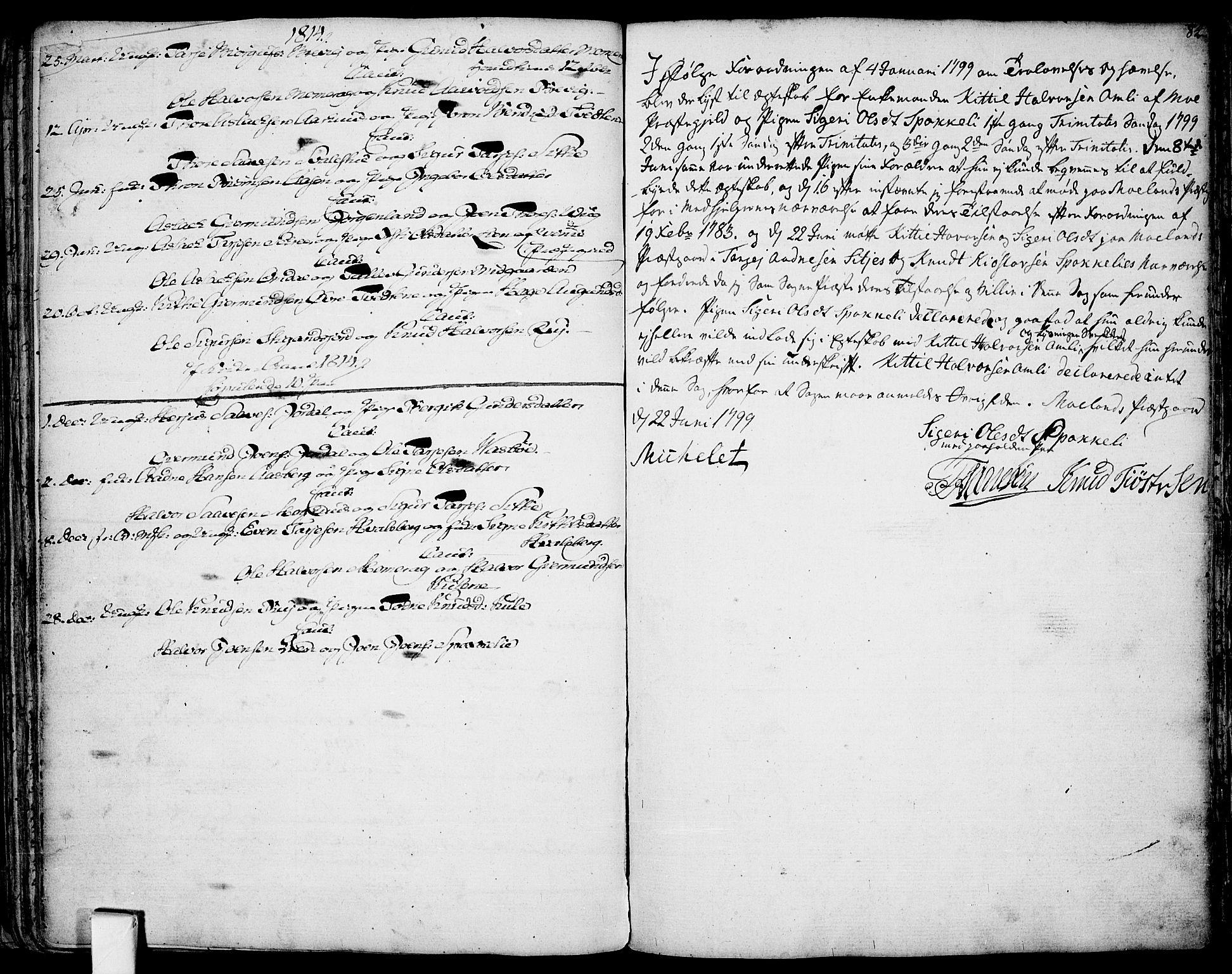 SAKO, Fyresdal kirkebøker, F/Fa/L0002: Ministerialbok nr. I 2, 1769-1814, s. 82