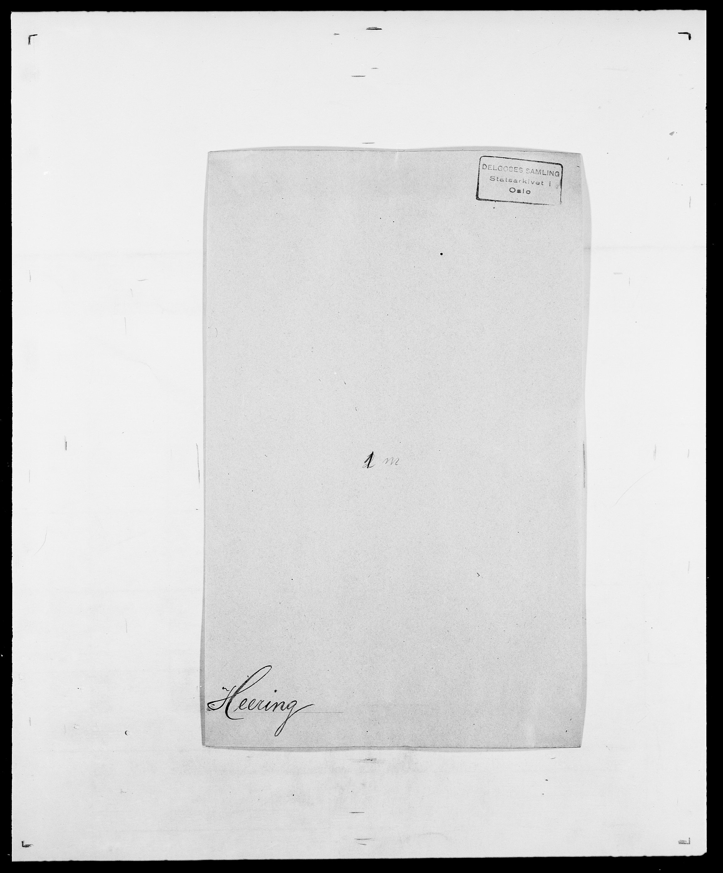 SAO, Delgobe, Charles Antoine - samling, D/Da/L0016: Hamborg - Hektoen, s. 700