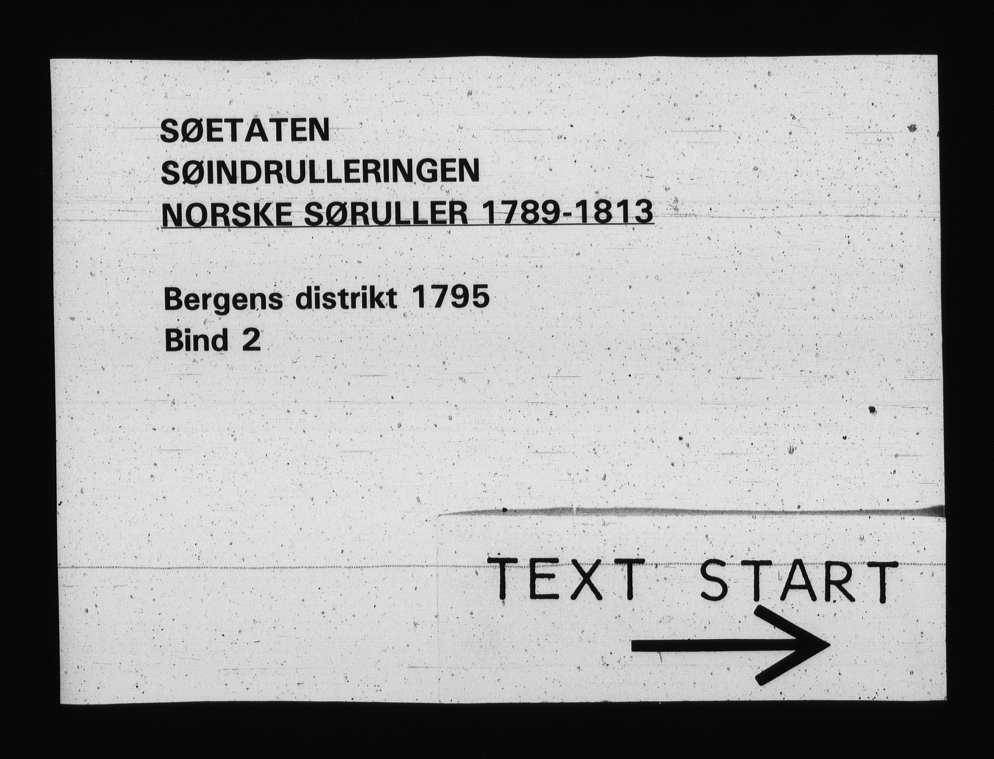 RA, Sjøetaten, F/L0222: Bergen distrikt, bind 2, 1795