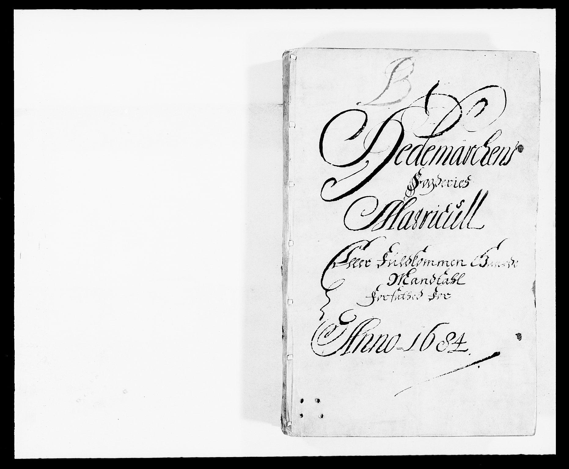 RA, Rentekammeret inntil 1814, Reviderte regnskaper, Fogderegnskap, R16/L1025: Fogderegnskap Hedmark, 1684, s. 19