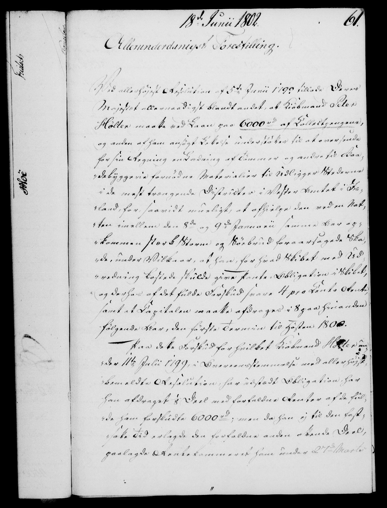 RA, Rentekammeret, Kammerkanselliet, G/Gf/Gfa/L0084: Norsk relasjons- og resolusjonsprotokoll (merket RK 52.84), 1802, s. 396