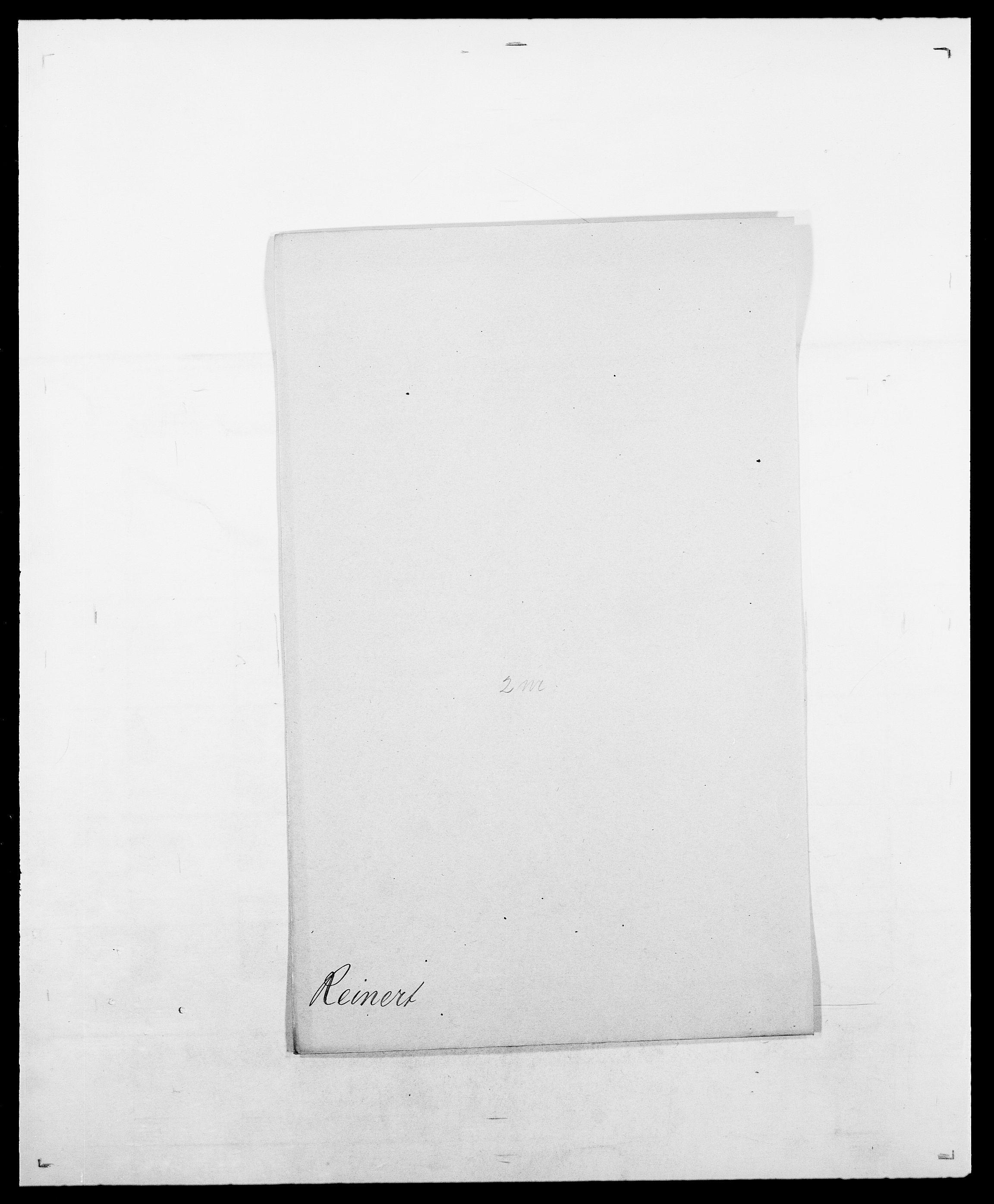 SAO, Delgobe, Charles Antoine - samling, D/Da/L0032: Rabakovsky - Rivertz, s. 371